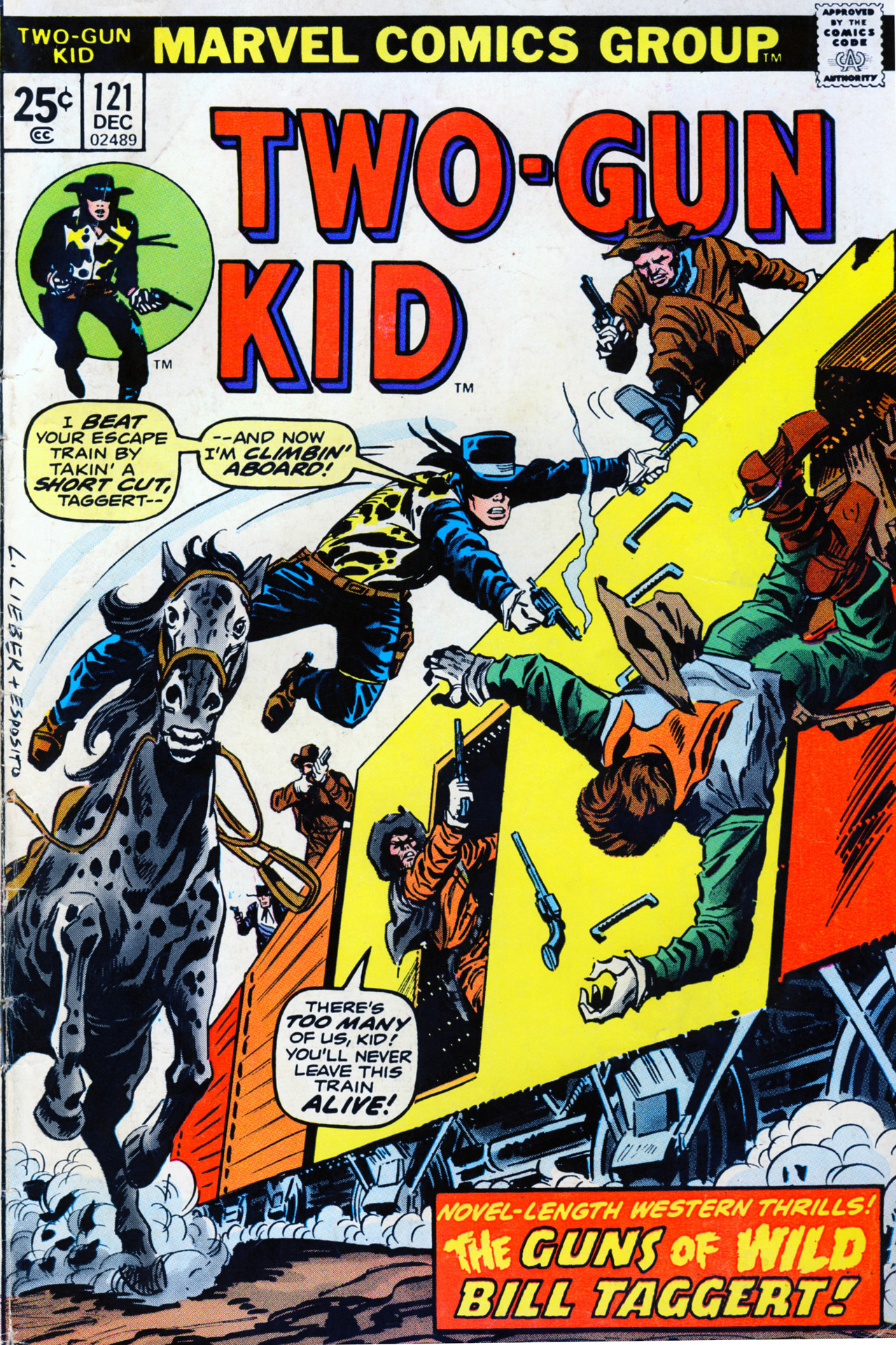 Read online Two-Gun Kid comic -  Issue #121 - 1