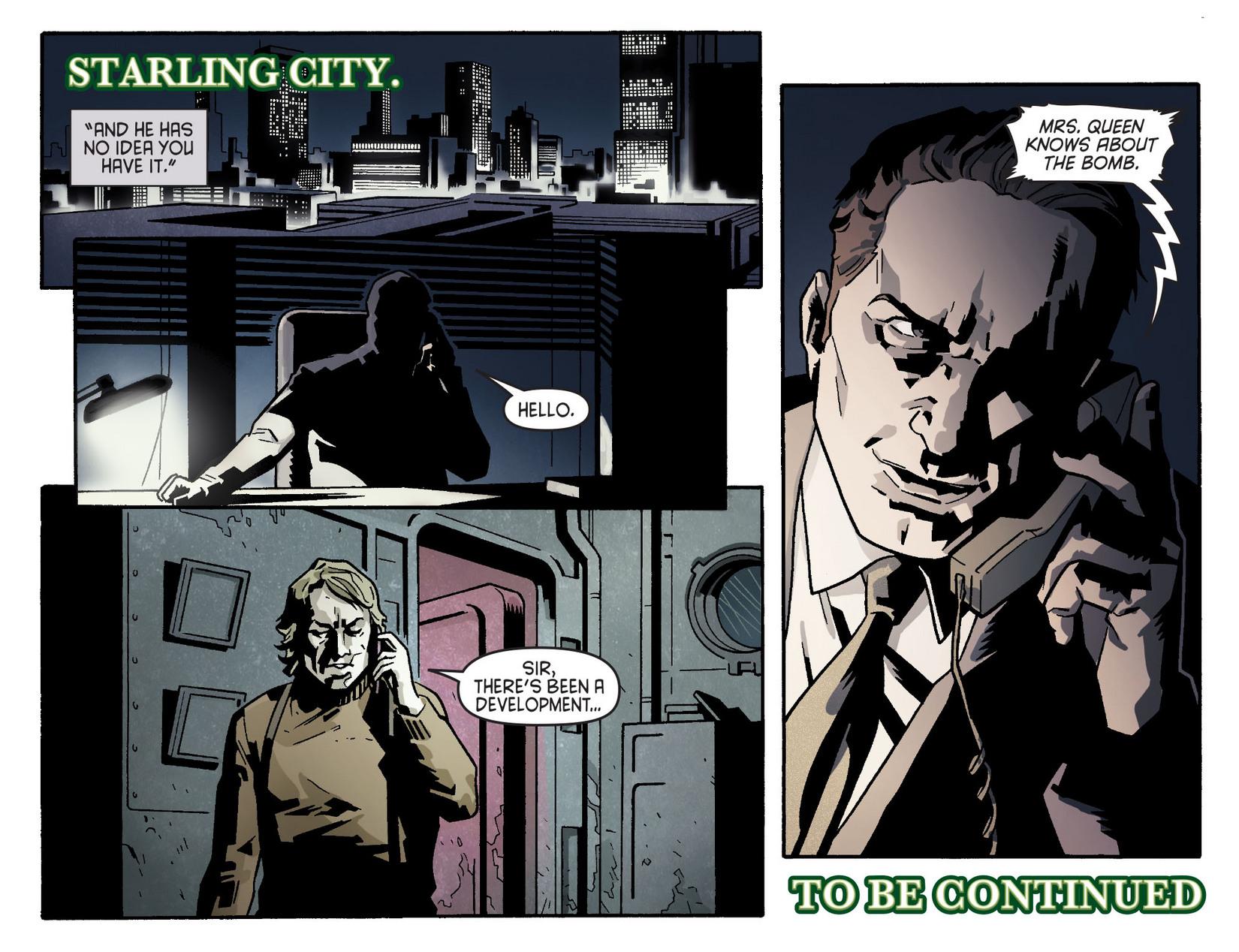 Read online Arrow [II] comic -  Issue #5 - 22