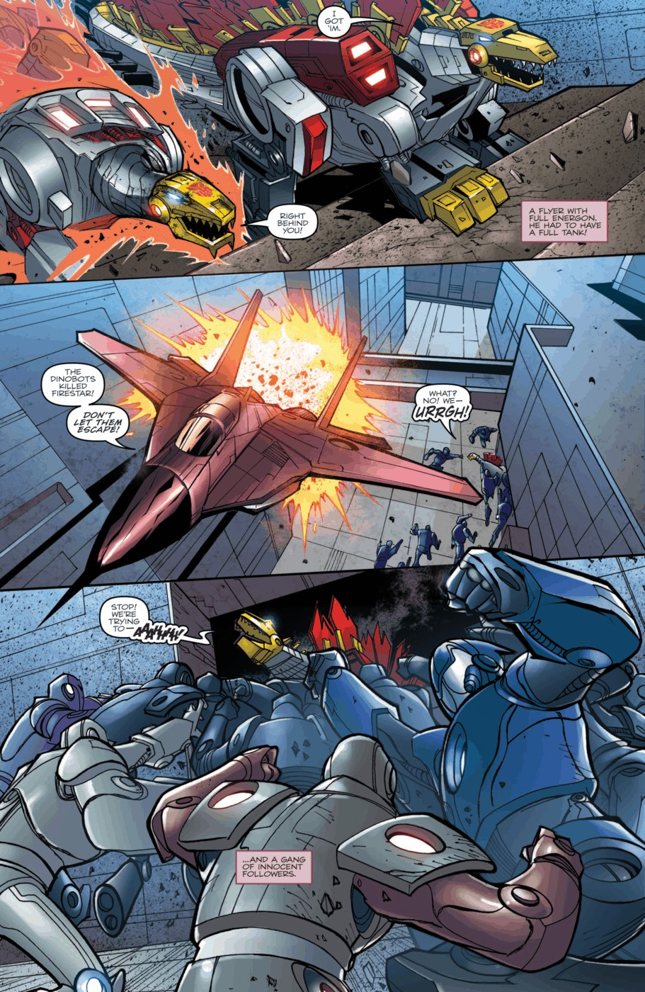 Read online Transformers Prime: Beast Hunters comic -  Issue #2 - 16