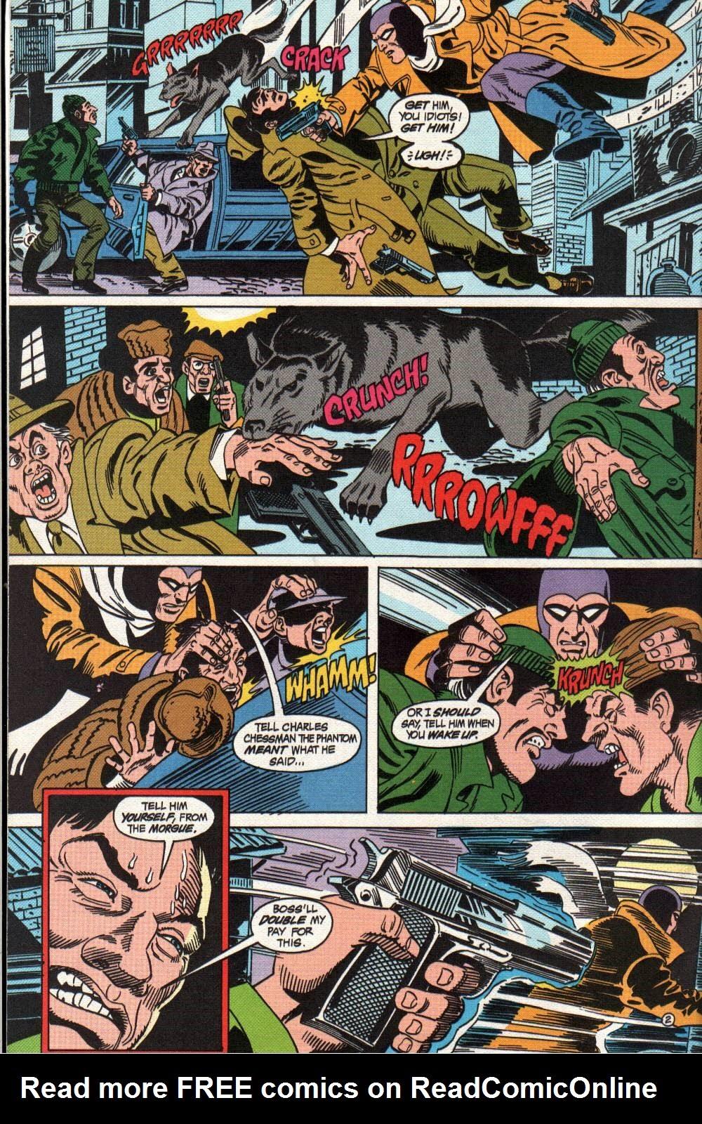 Read online The Phantom (1988) comic -  Issue #4 - 3