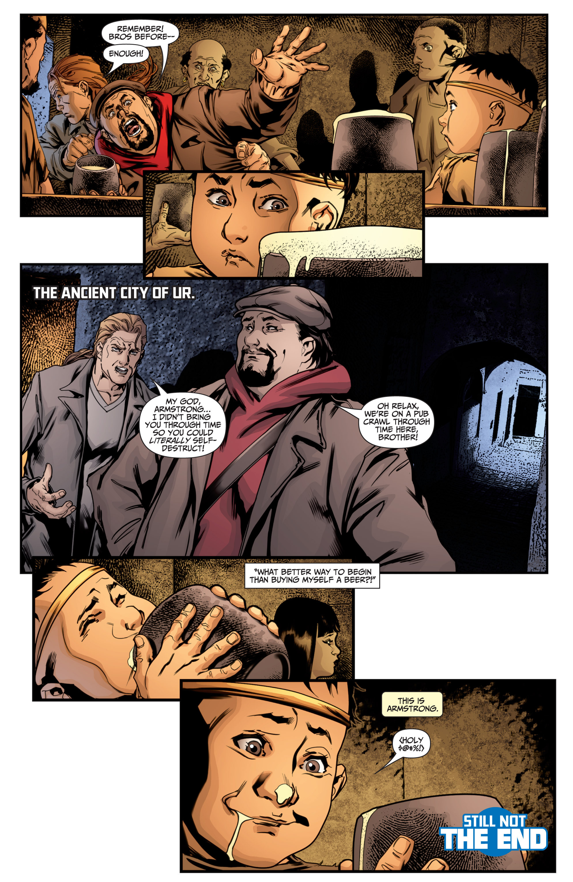 Read online Archer and Armstrong comic -  Issue #Archer and Armstrong _TPB 7 - 45