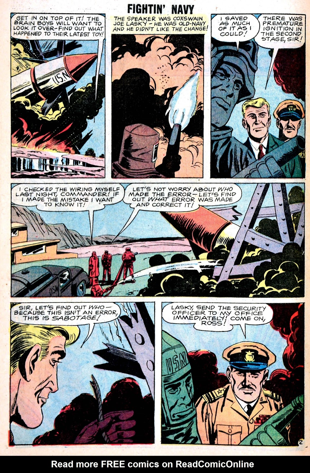 Read online Fightin' Navy comic -  Issue #85 - 28