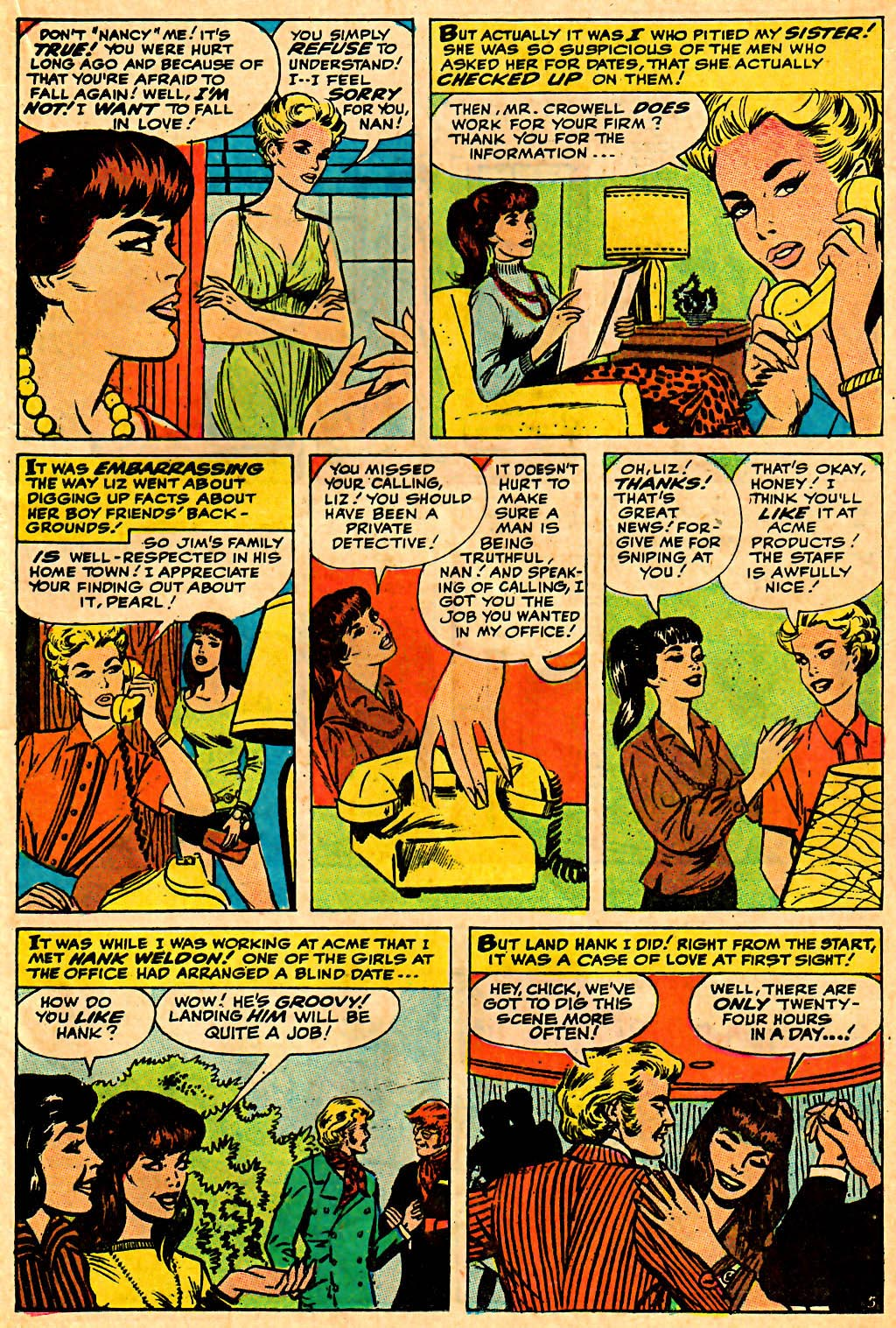 My Love (1969) issue 7 - Page 17
