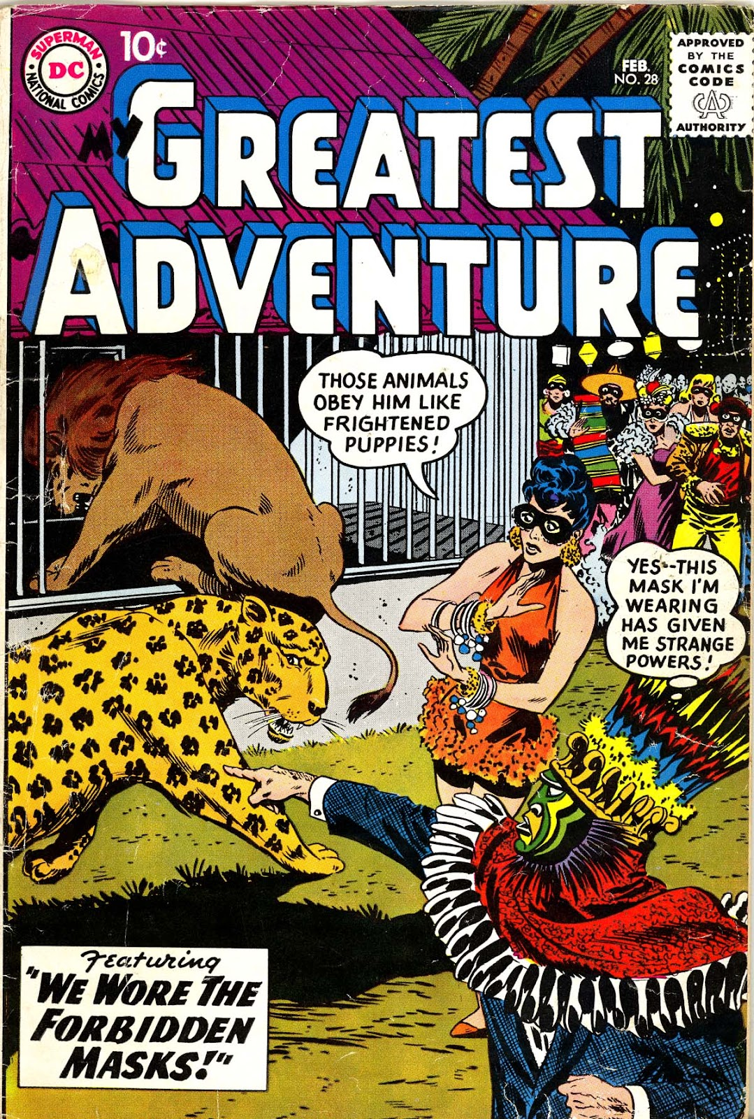 My Greatest Adventure (1955) issue 28 - Page 1
