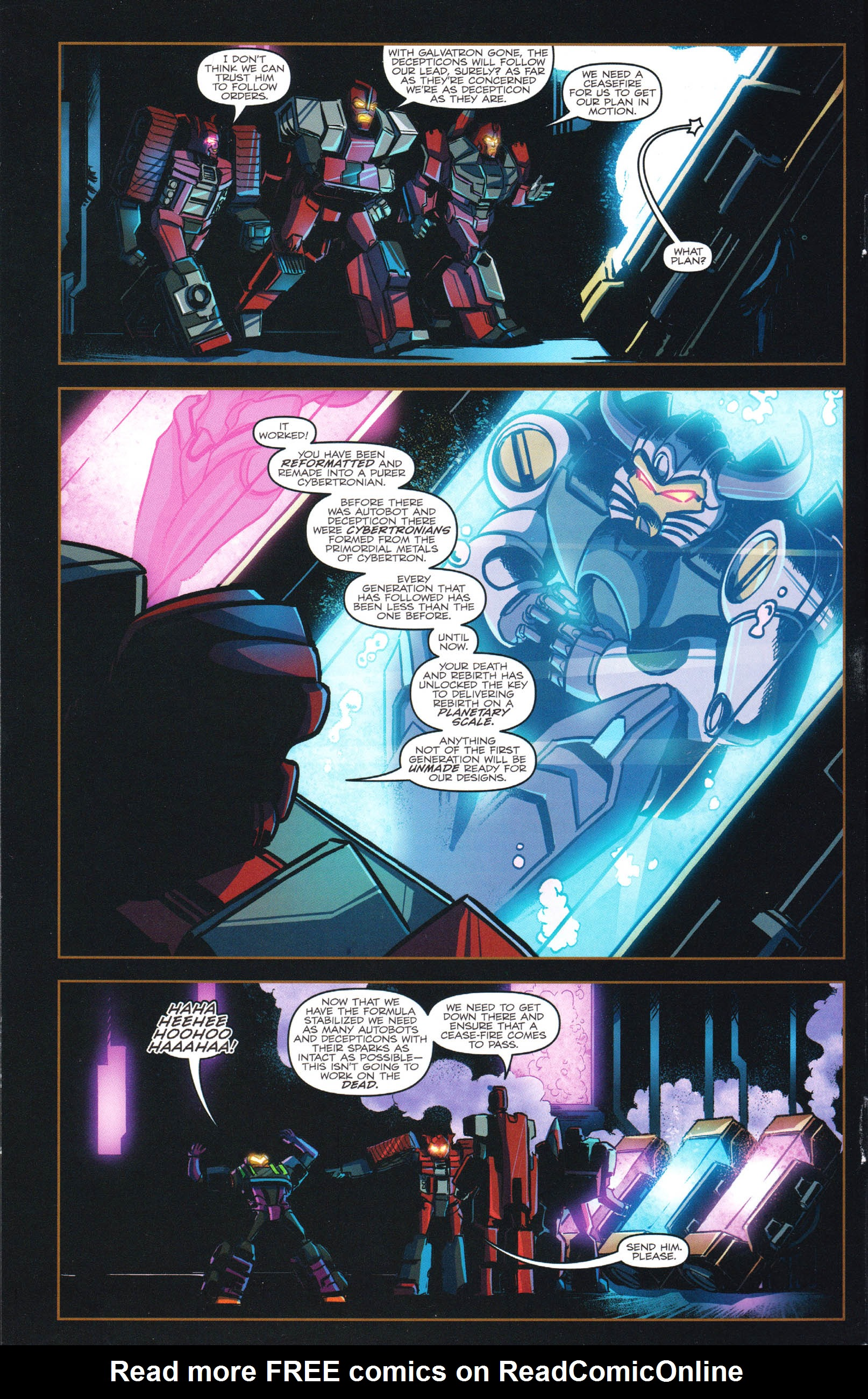 Read online Transformers: Dawn of the Predacus comic -  Issue # Full - 5