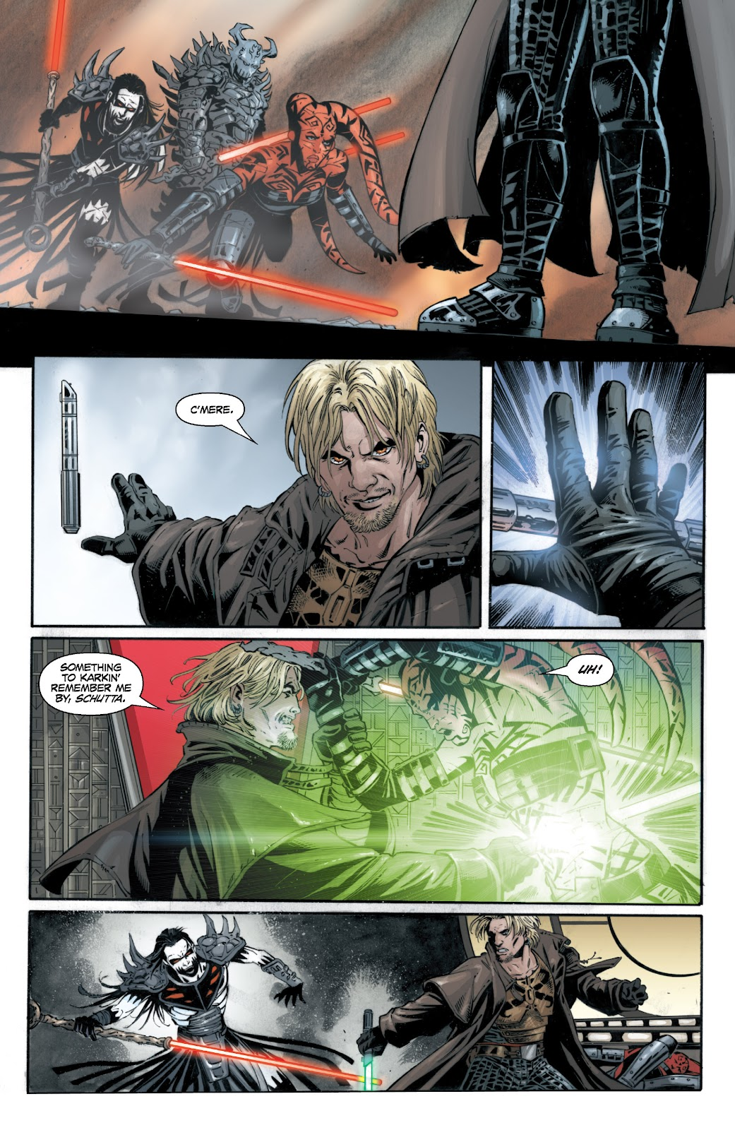 Read online Star Wars Legends: Legacy - Epic Collection comic -  Issue # TPB 1 (Part 5) - 36
