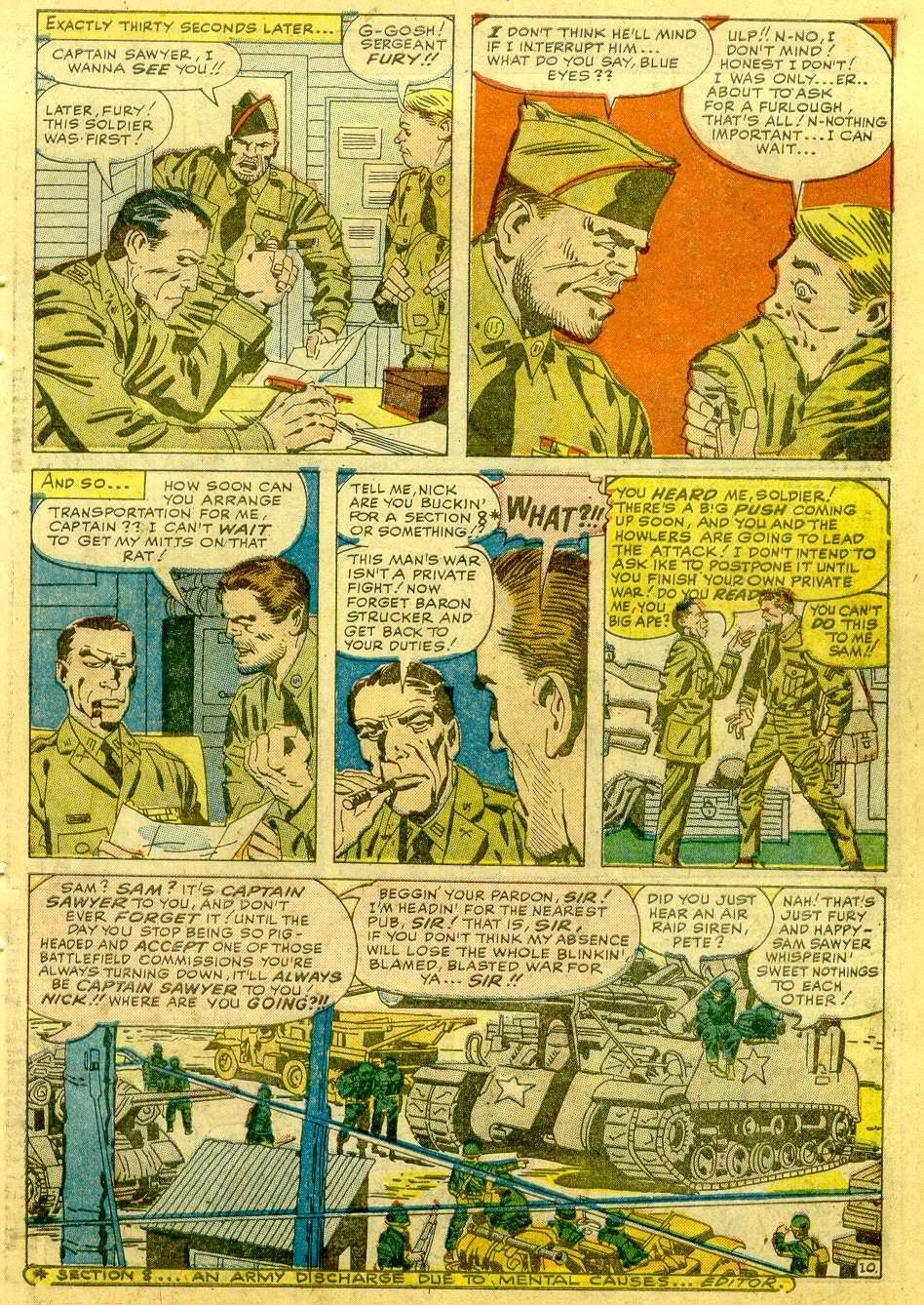 Read online Sgt. Fury comic -  Issue # _Annual 1 - 57