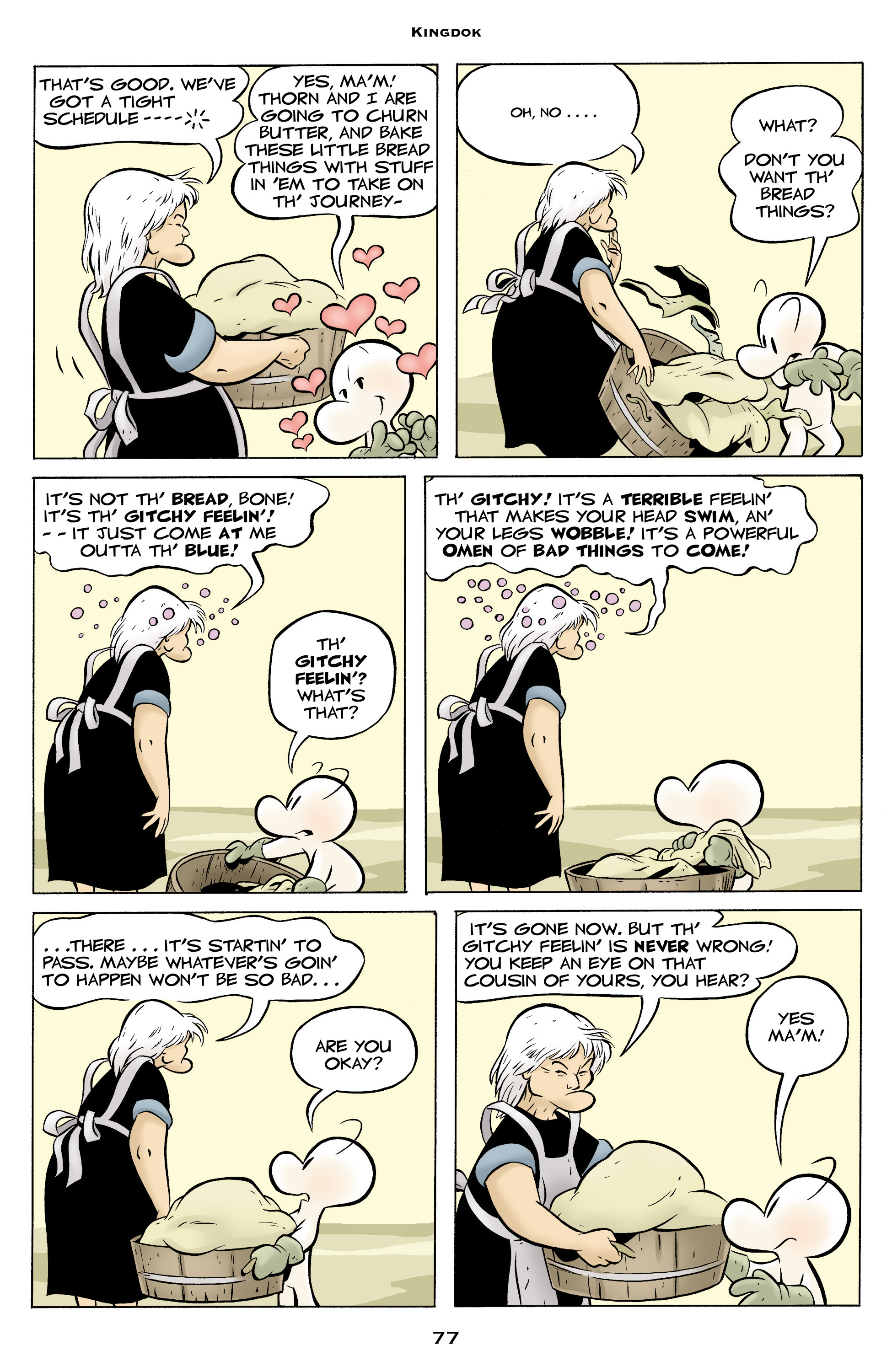 Read online Bone: Out From Boneville comic -  Issue # TPB - 77