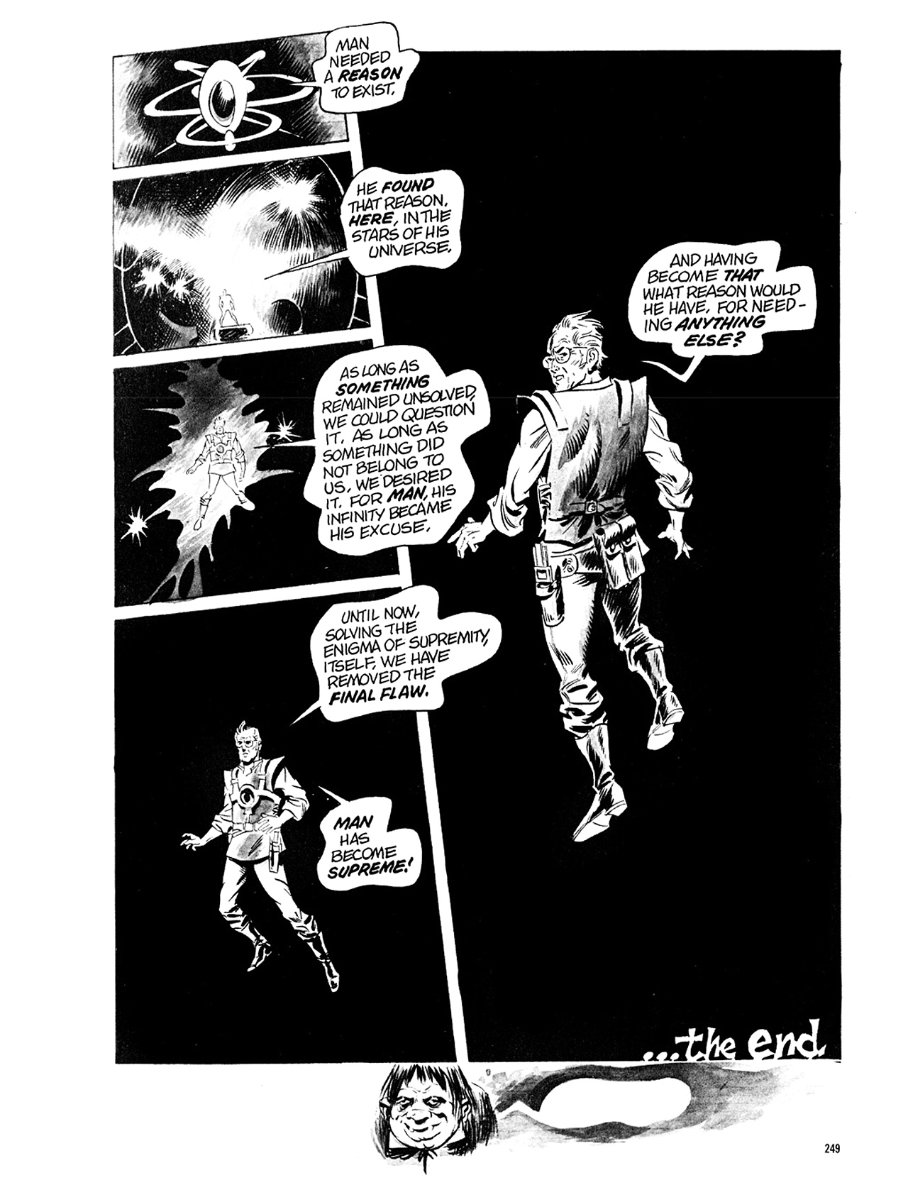 Read online Eerie Archives comic -  Issue # TPB 5 - 250