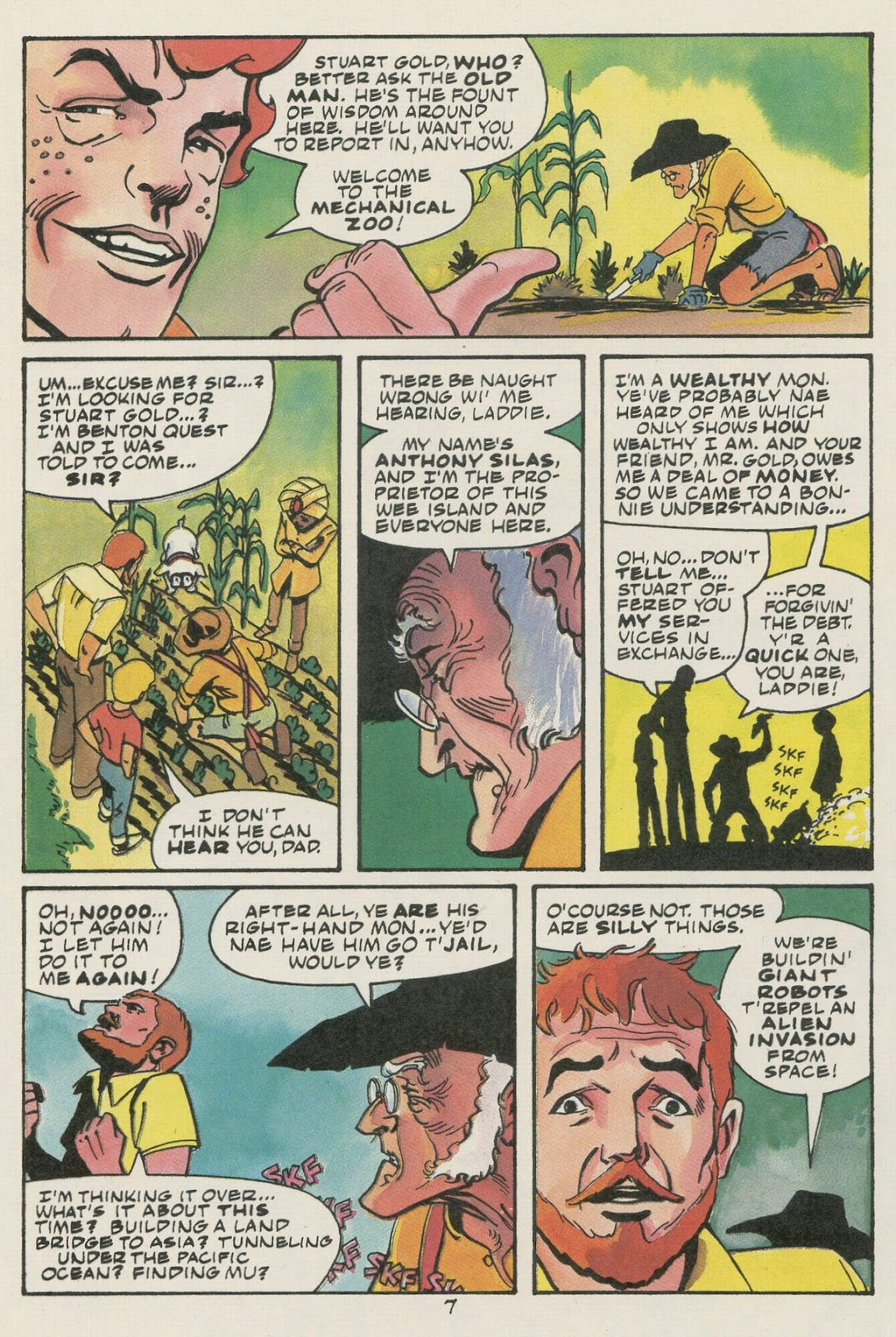 Jonny Quest (1986) issue 17 - Page 9