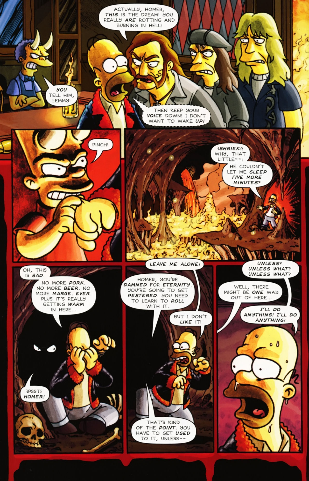 Read online Treehouse of Horror comic -  Issue #16 - 49