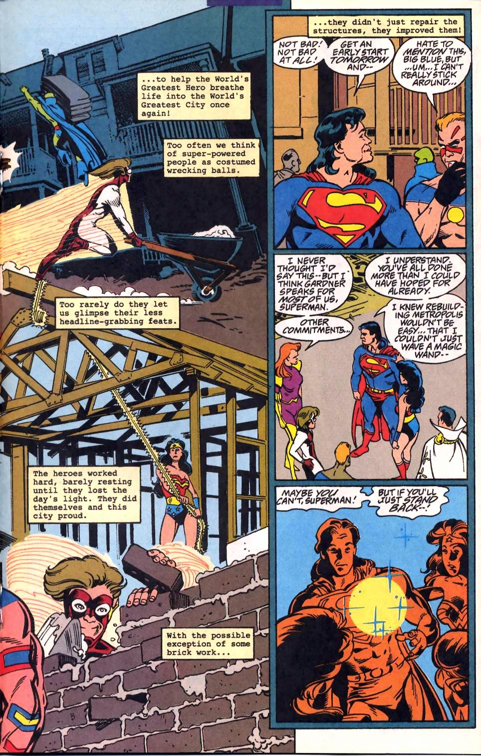 Read online Adventures of Superman (1987) comic -  Issue #522 - 16