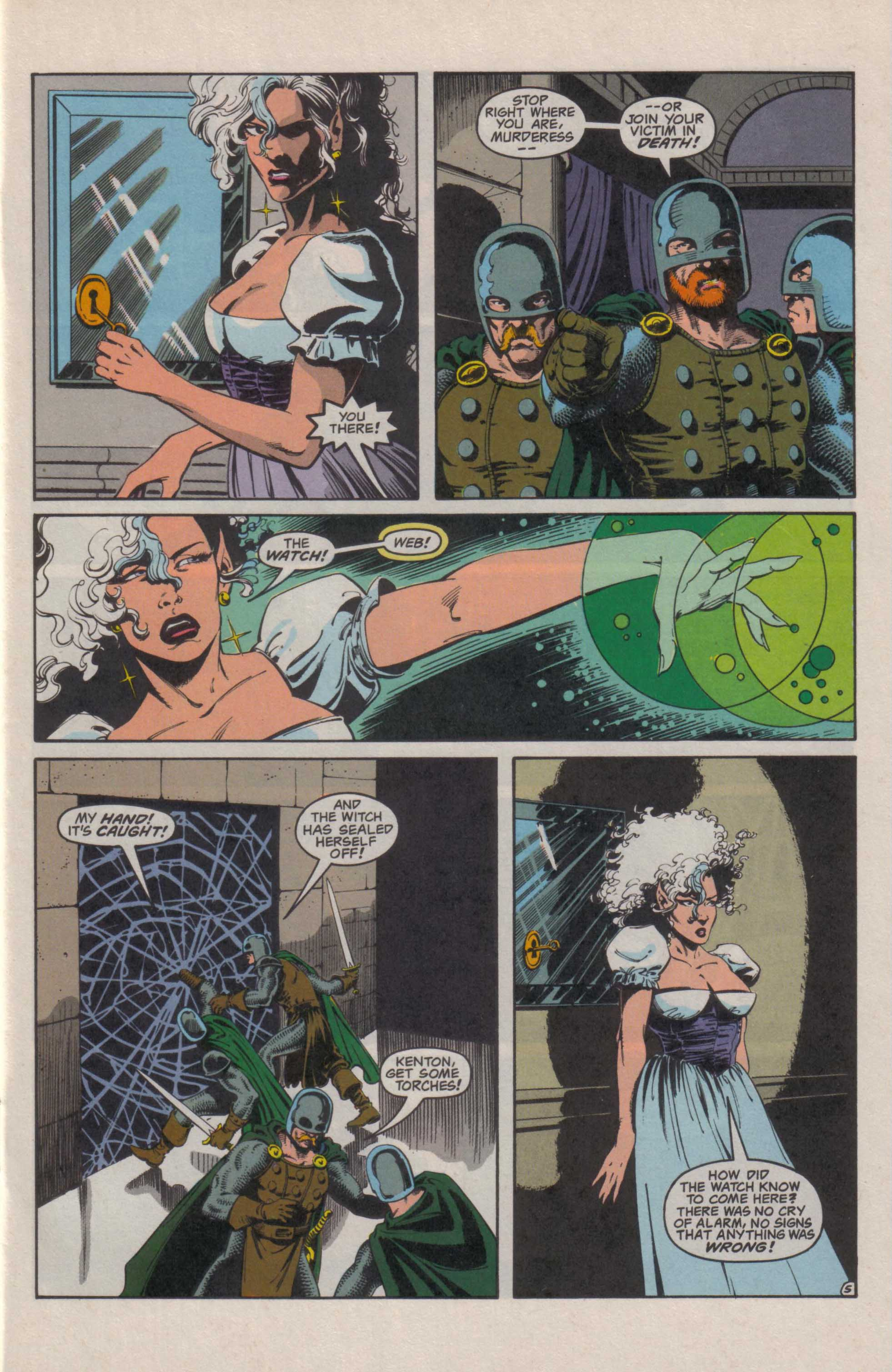 Read online Advanced Dungeons & Dragons comic -  Issue #27 - 6