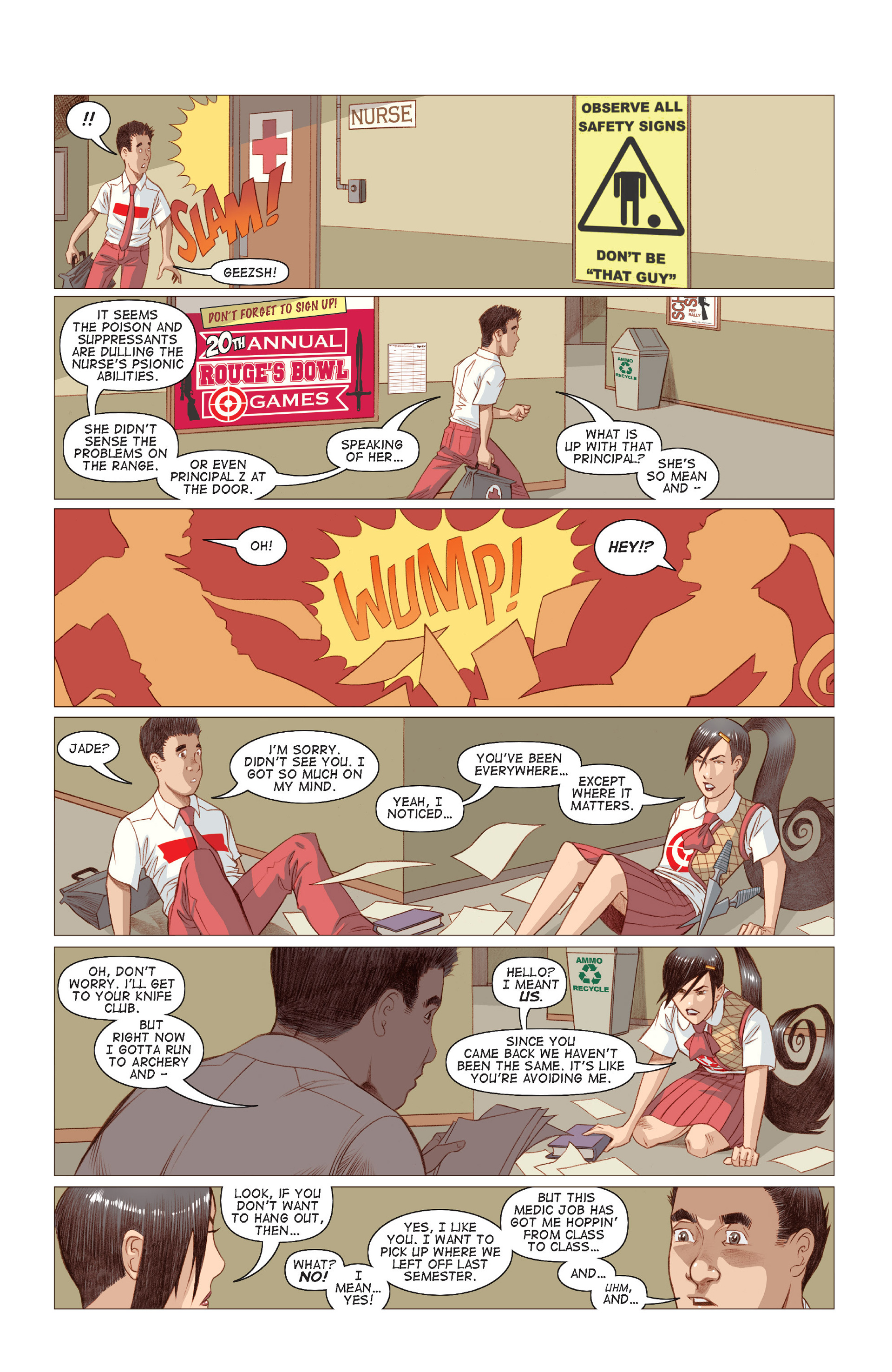 Read online Five Weapons comic -  Issue #7 - 15