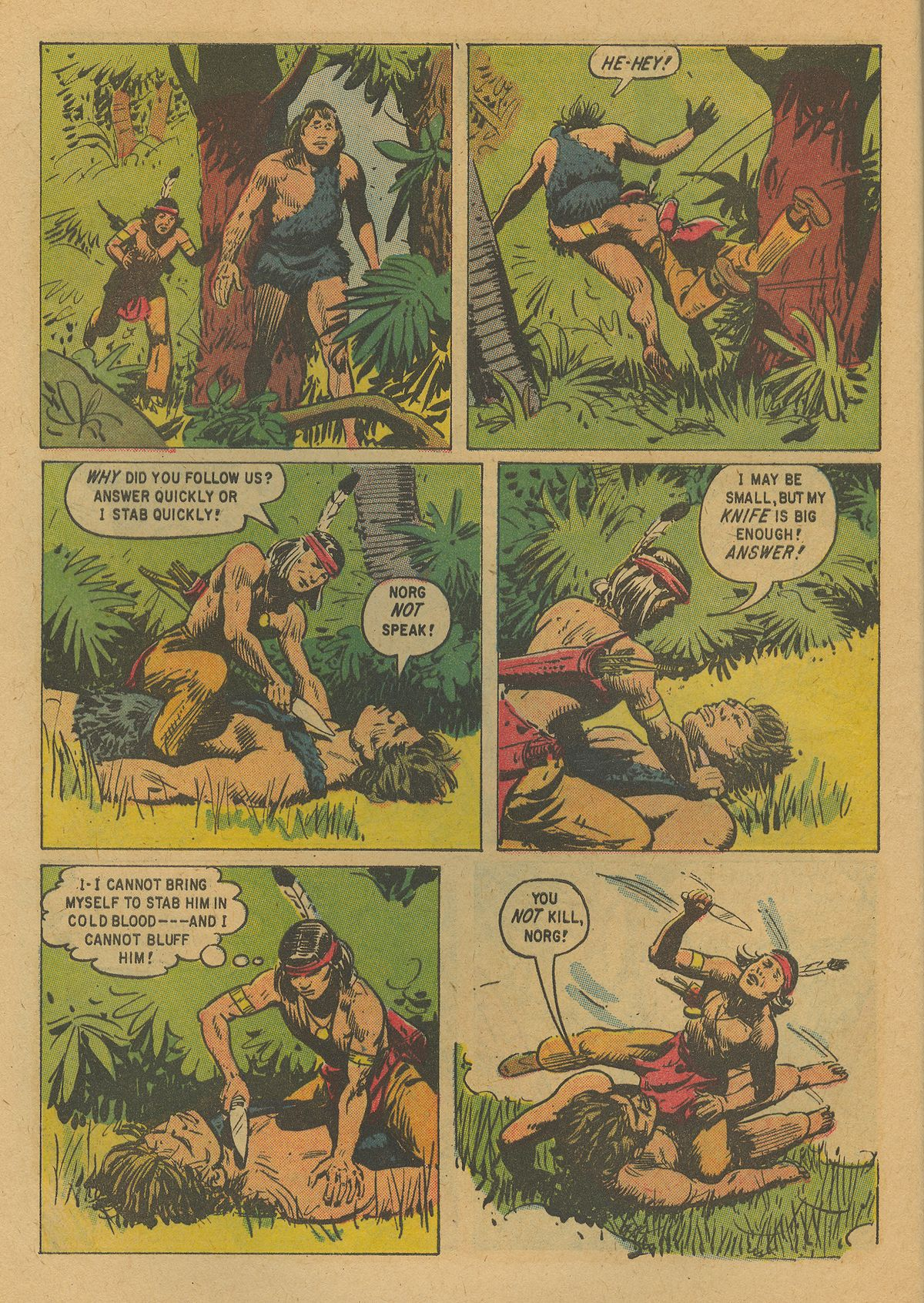 Read online Turok, Son of Stone comic -  Issue #19 - 8
