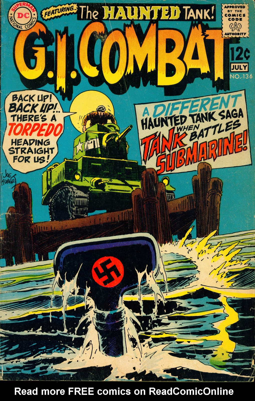 G.I. Combat (1952) issue 136 - Page 1