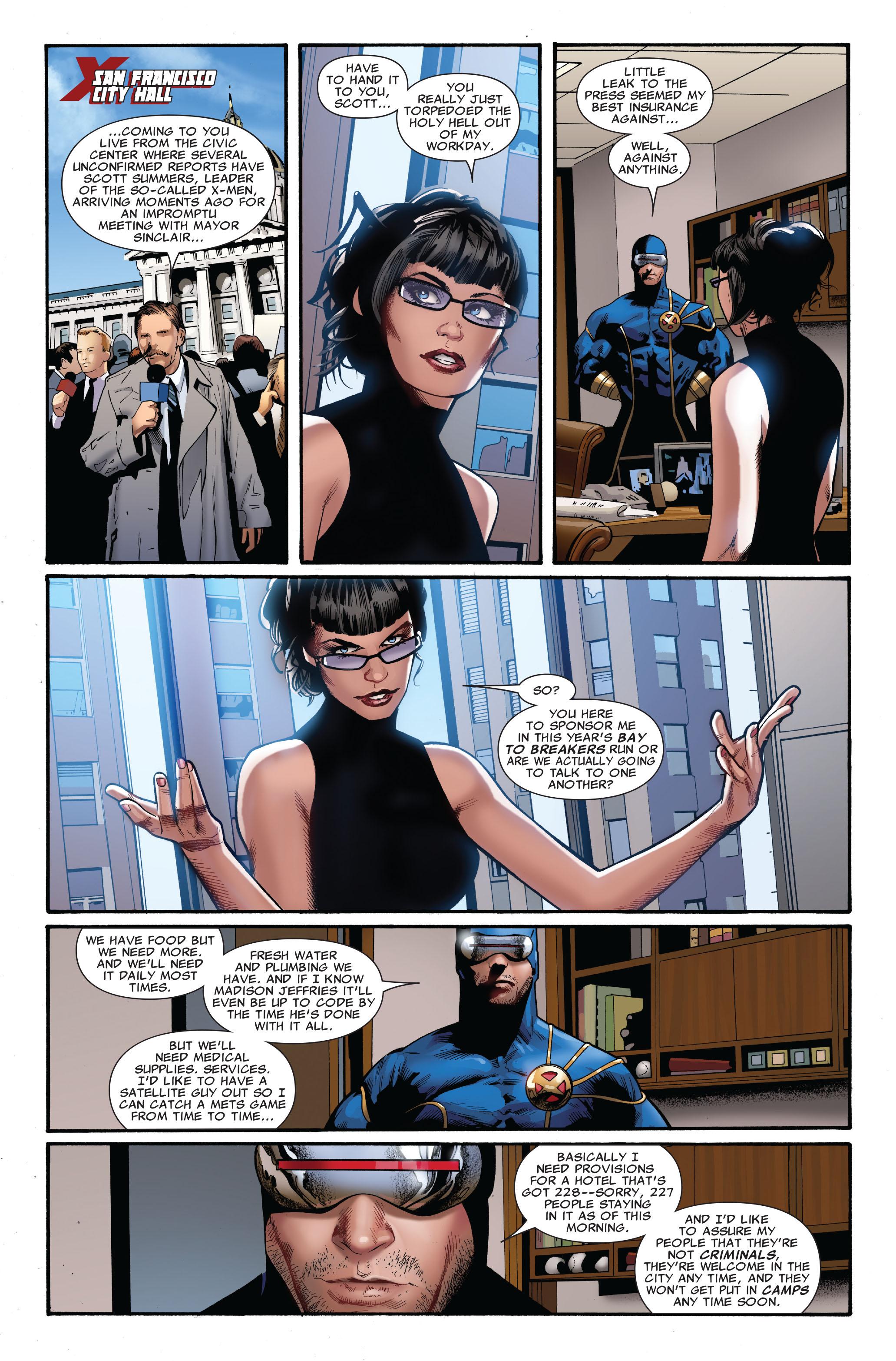 Read online Uncanny X-Men (1963) comic -  Issue #515 - 19