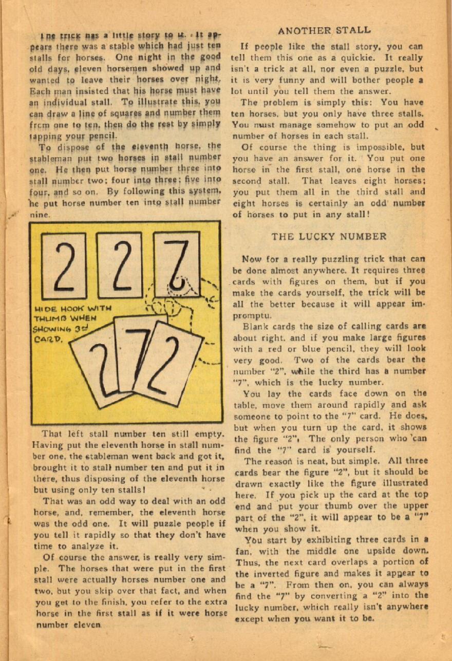 Read online Super-Magician Comics comic -  Issue #45 - 25