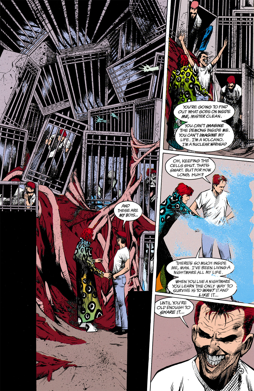 Read online Shade, the Changing Man comic -  Issue #13 - 15