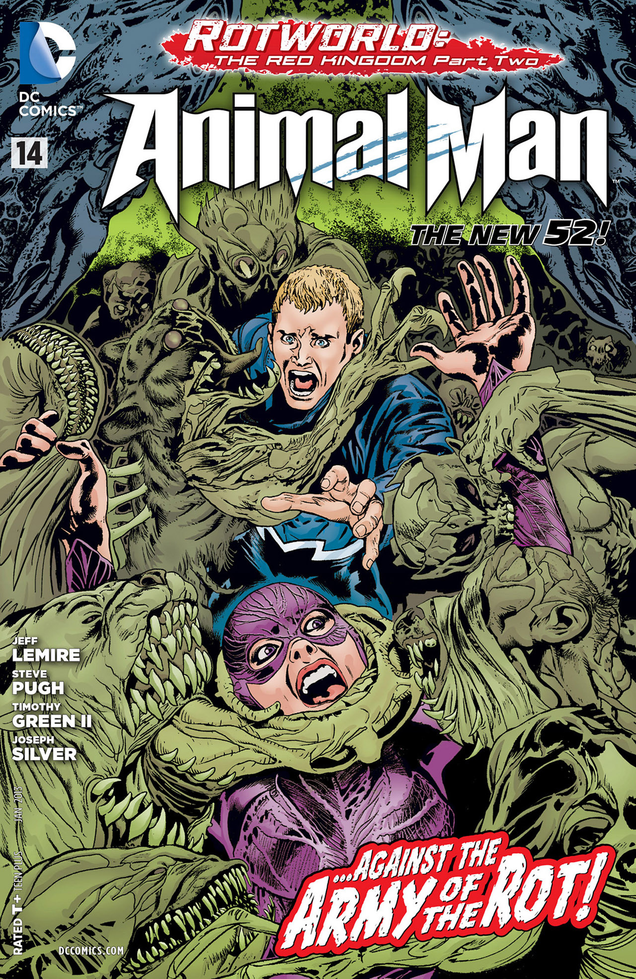 Read online Animal Man (2011) comic -  Issue #14 - 1