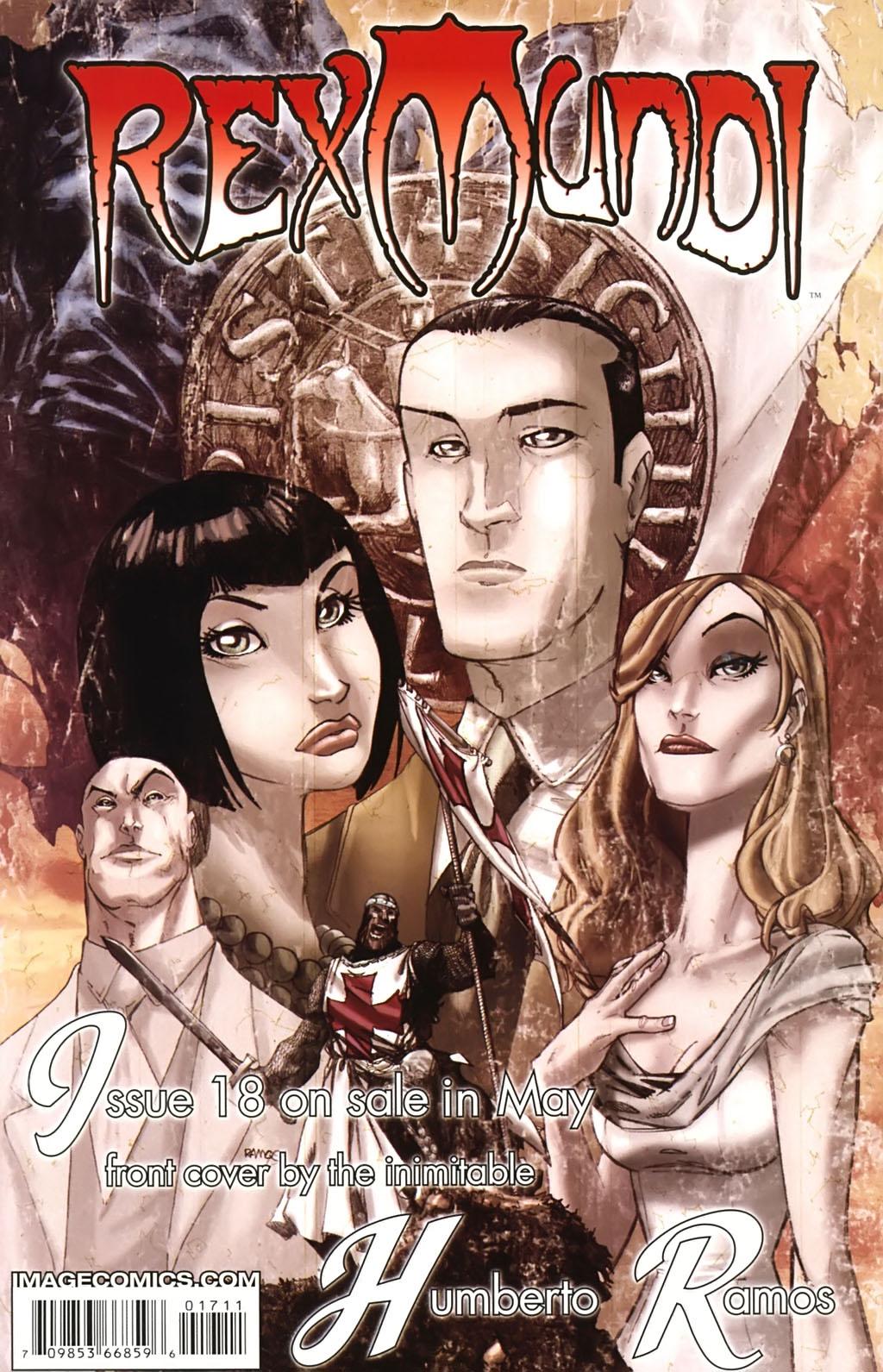 Read online Rex Mundi comic -  Issue #17 - 32