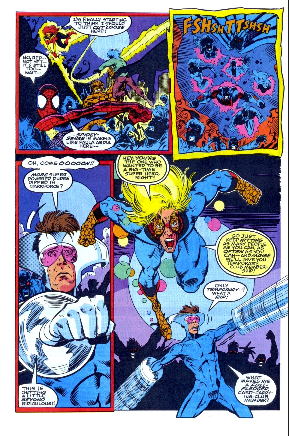 The New Warriors Issue #34 #38 - English 21