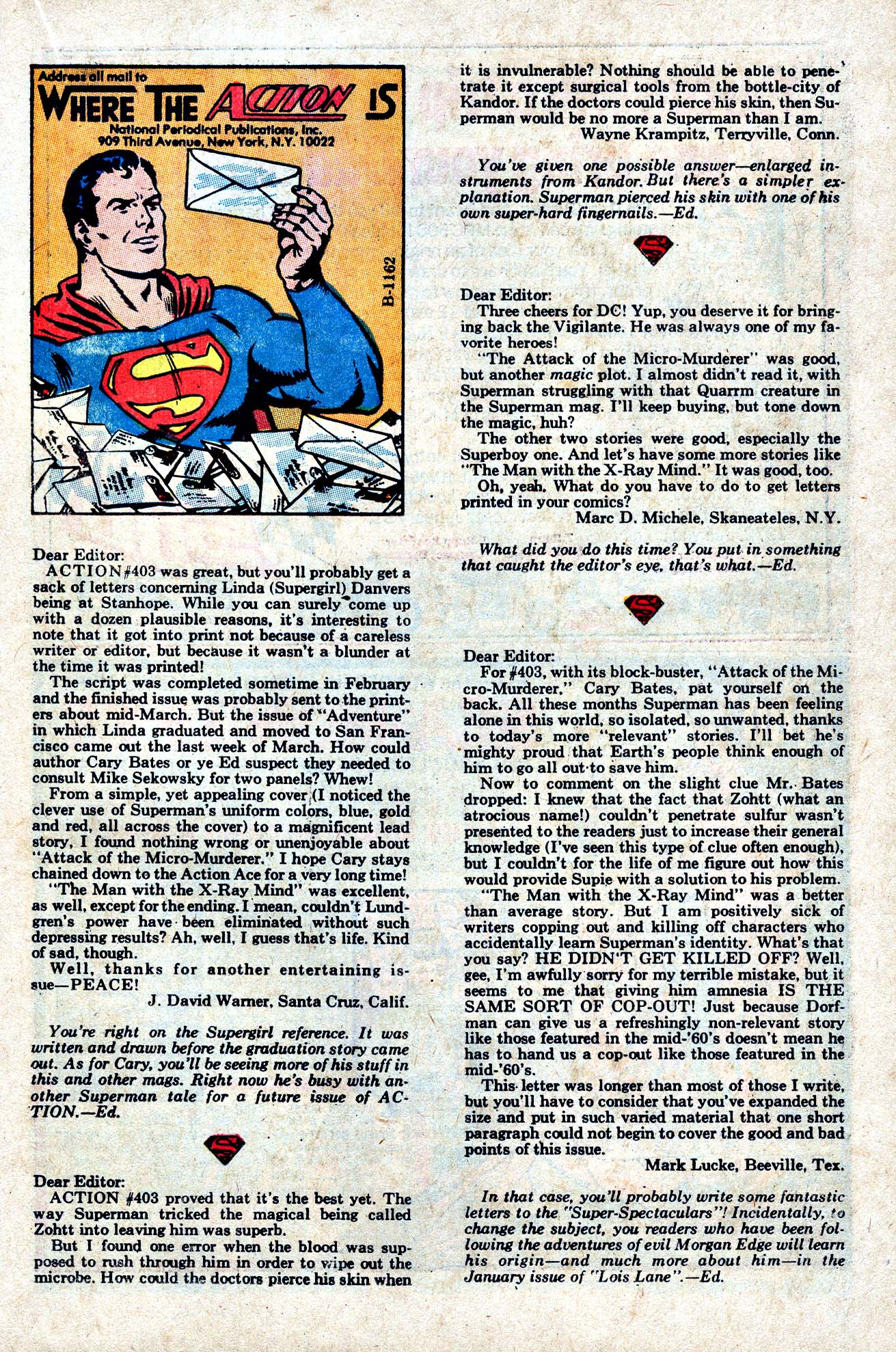 Read online Action Comics (1938) comic -  Issue #407 - 22