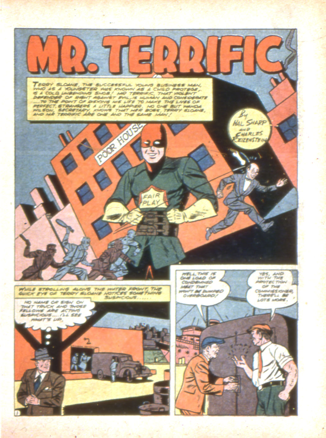 Read online Sensation (Mystery) Comics comic -  Issue #7 - 25