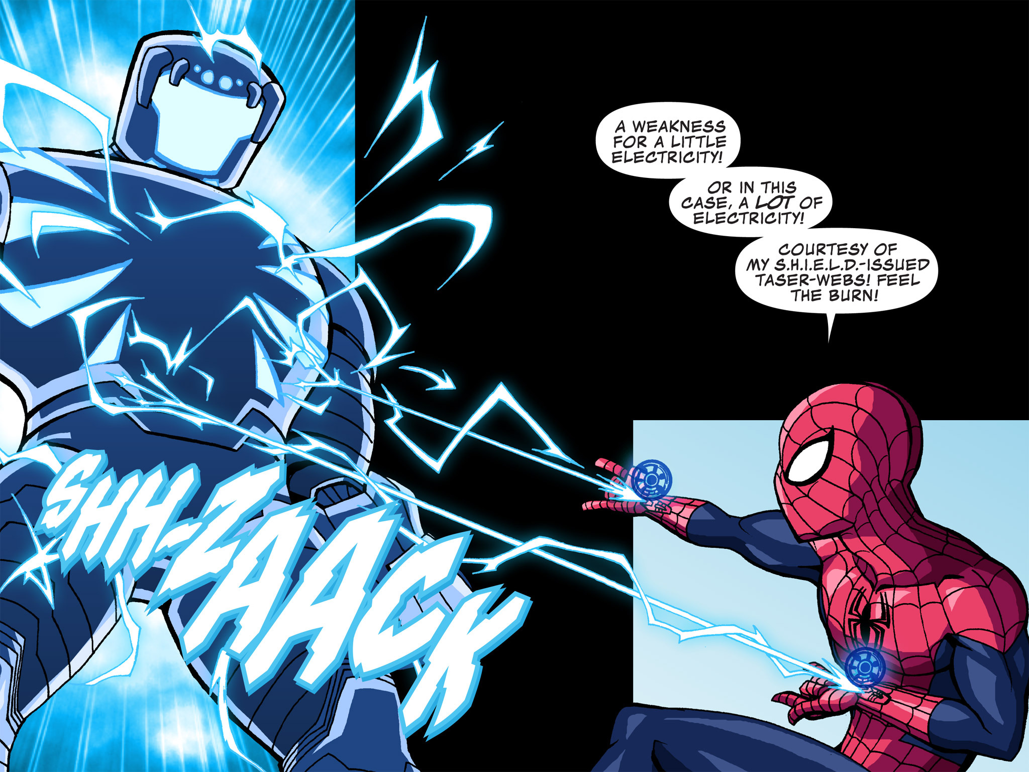 Read online Ultimate Spider-Man (Infinite Comics) (2015) comic -  Issue #3 - 8