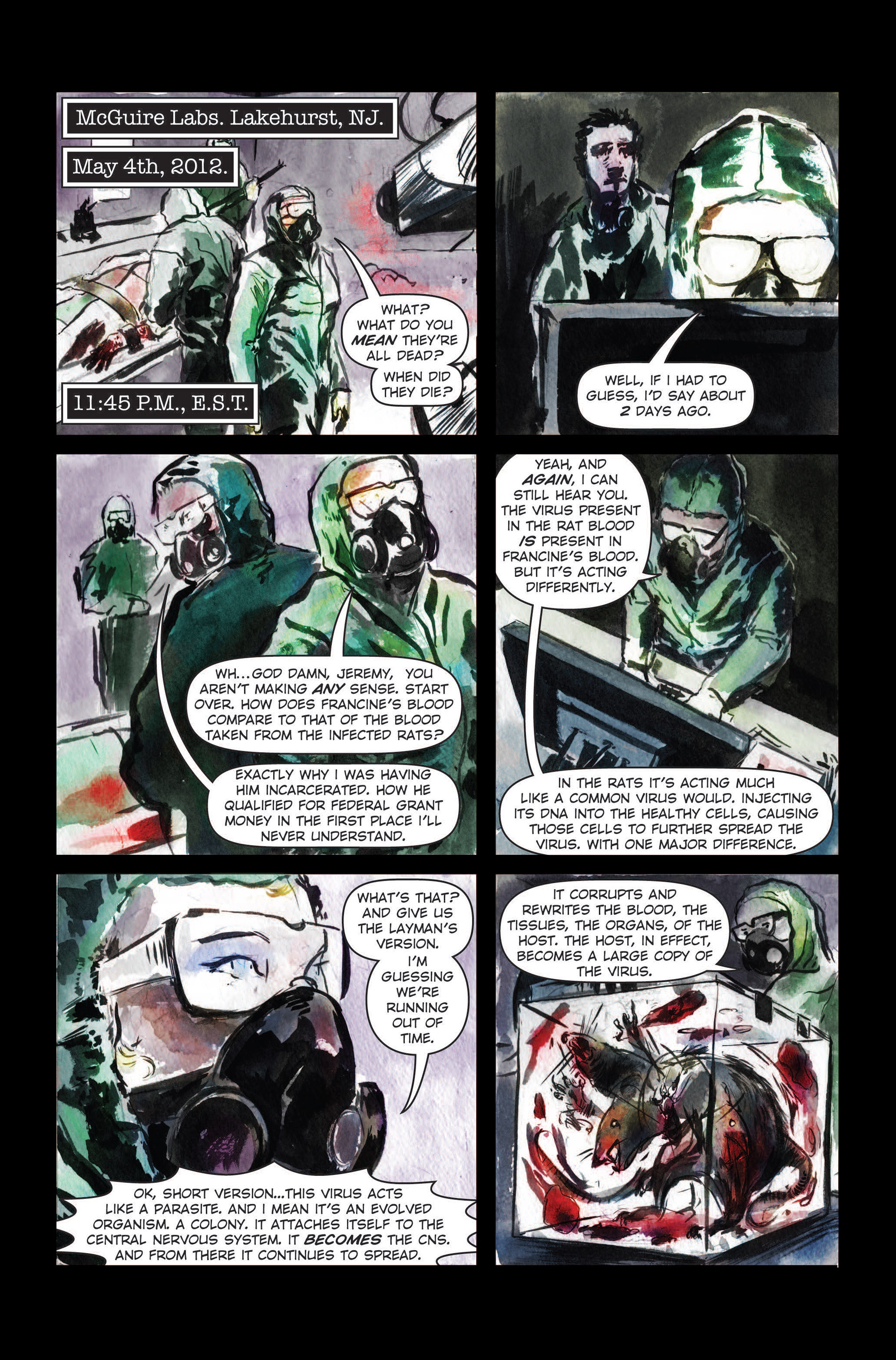 Read online The Final Plague comic -  Issue #3 - 23