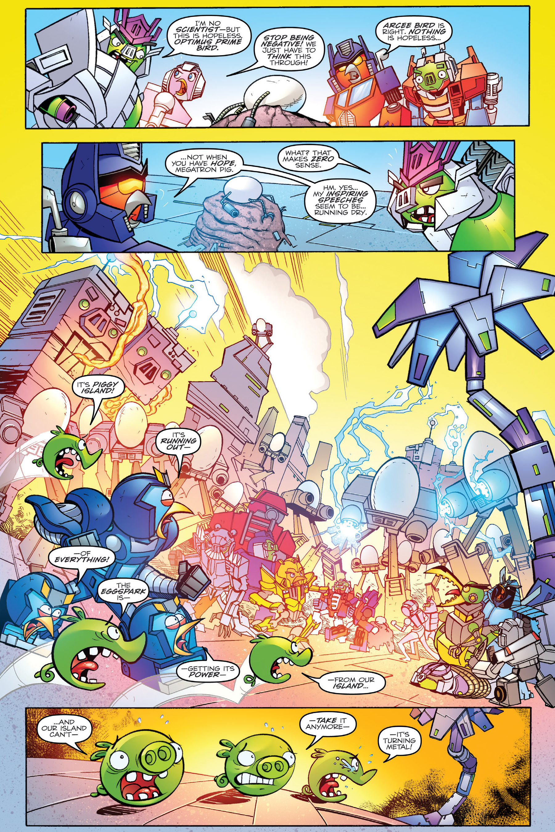 Read online Angry Birds Transformers: Age of Eggstinction comic -  Issue # Full - 71