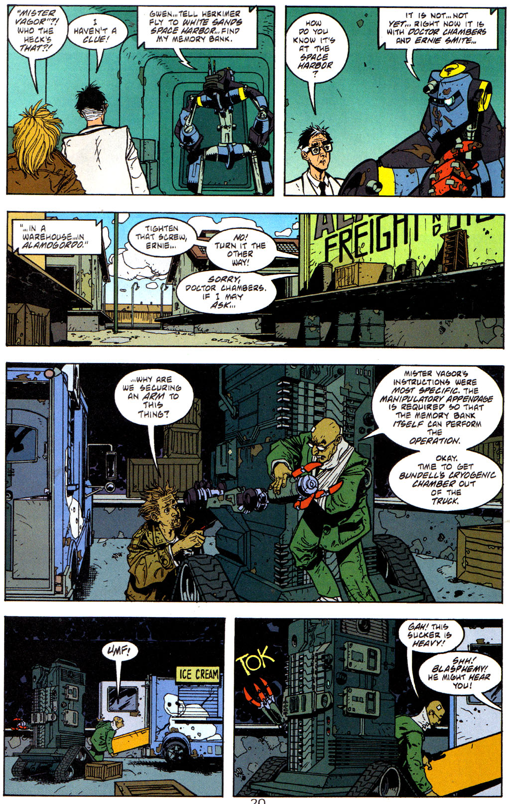 Read online Trouble Magnet comic -  Issue #3 - 21