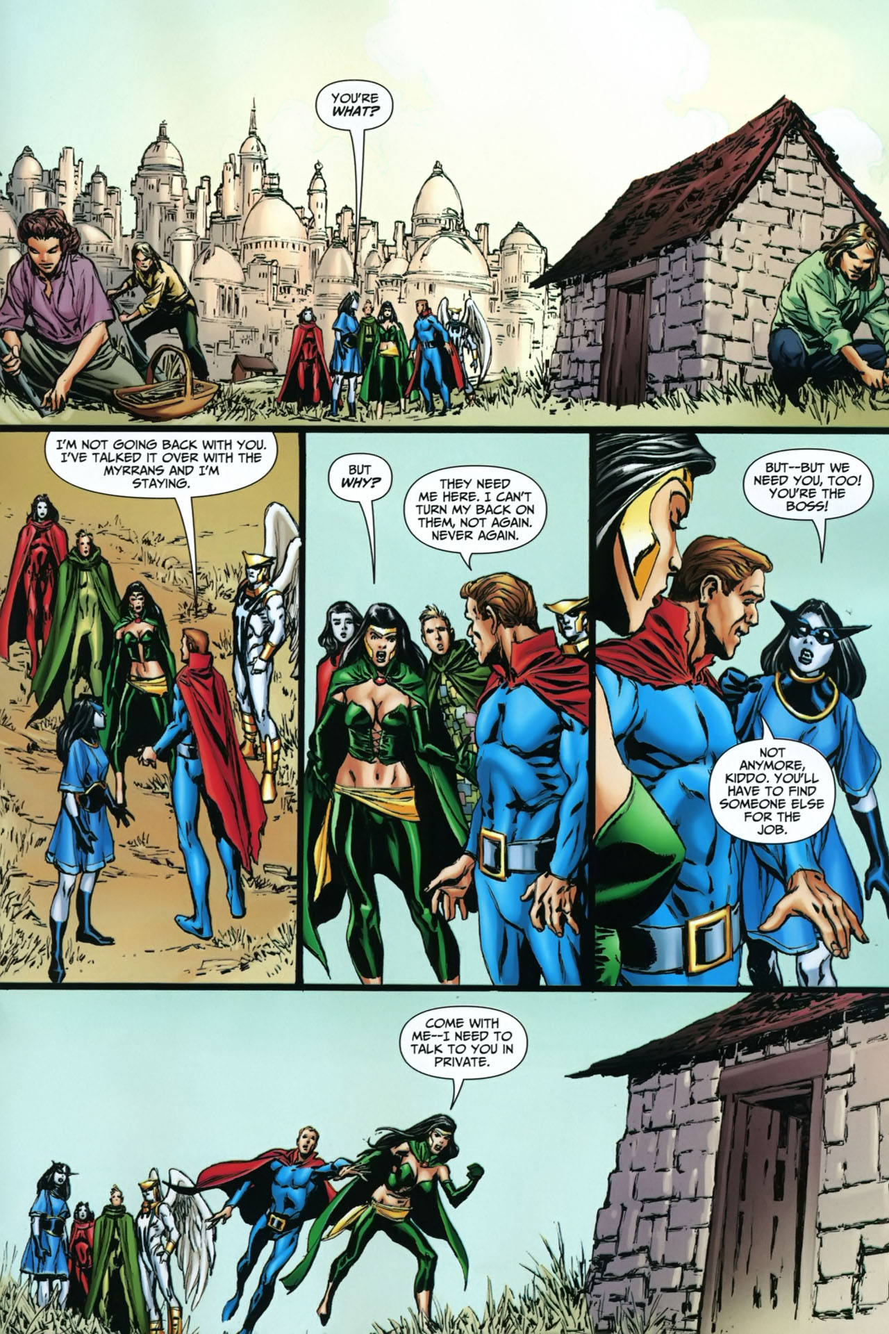Read online Shadowpact comic -  Issue #22 - 19