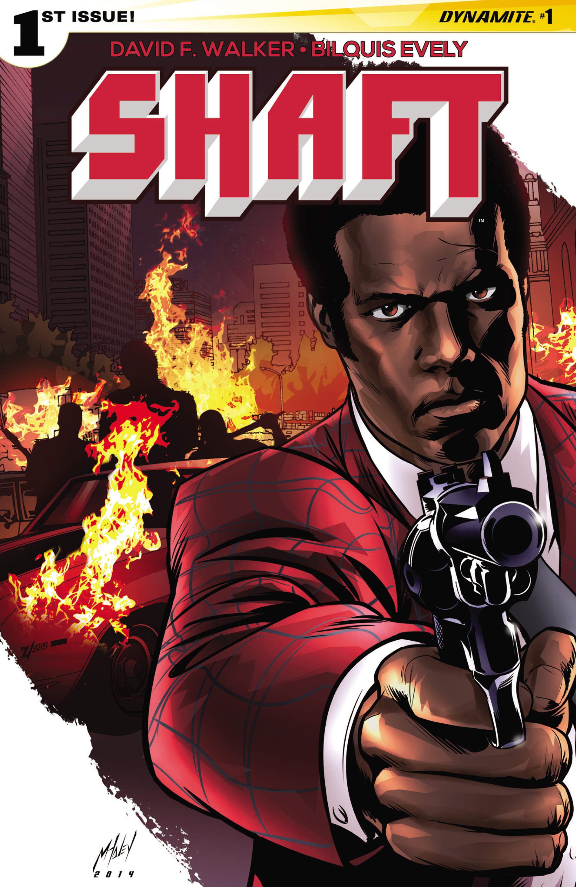 Read online Shaft comic -  Issue #1 - 5