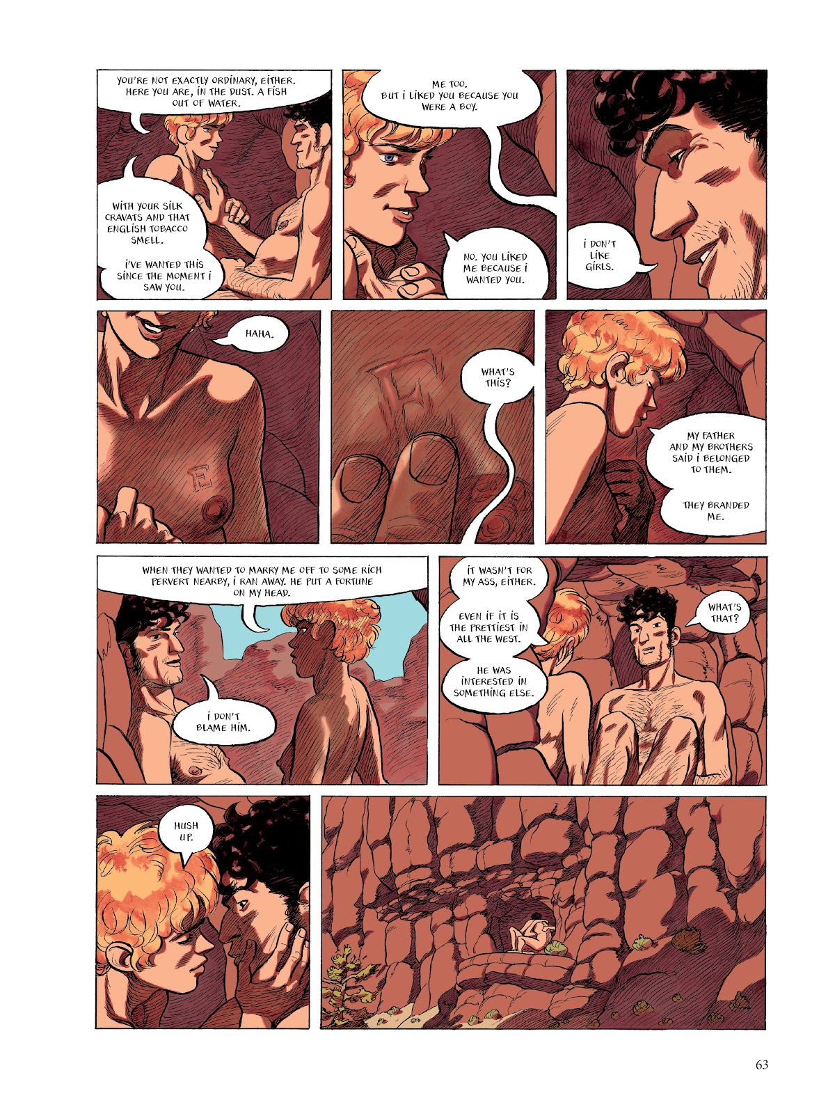 Read online The Smell of Starving Boys comic -  Issue # TPB - 64