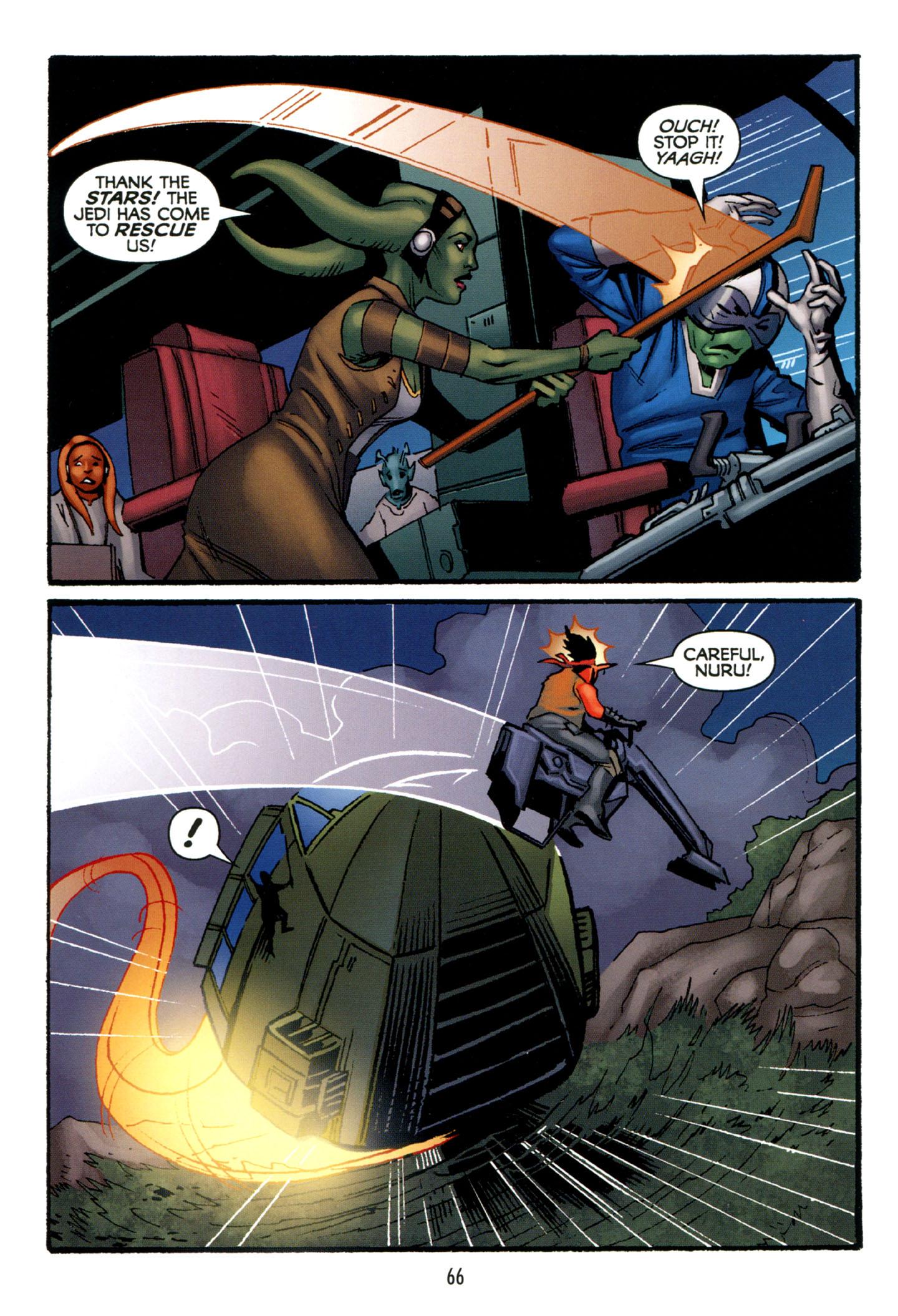 Read online Star Wars: The Clone Wars - Strange Allies comic -  Issue # Full - 67