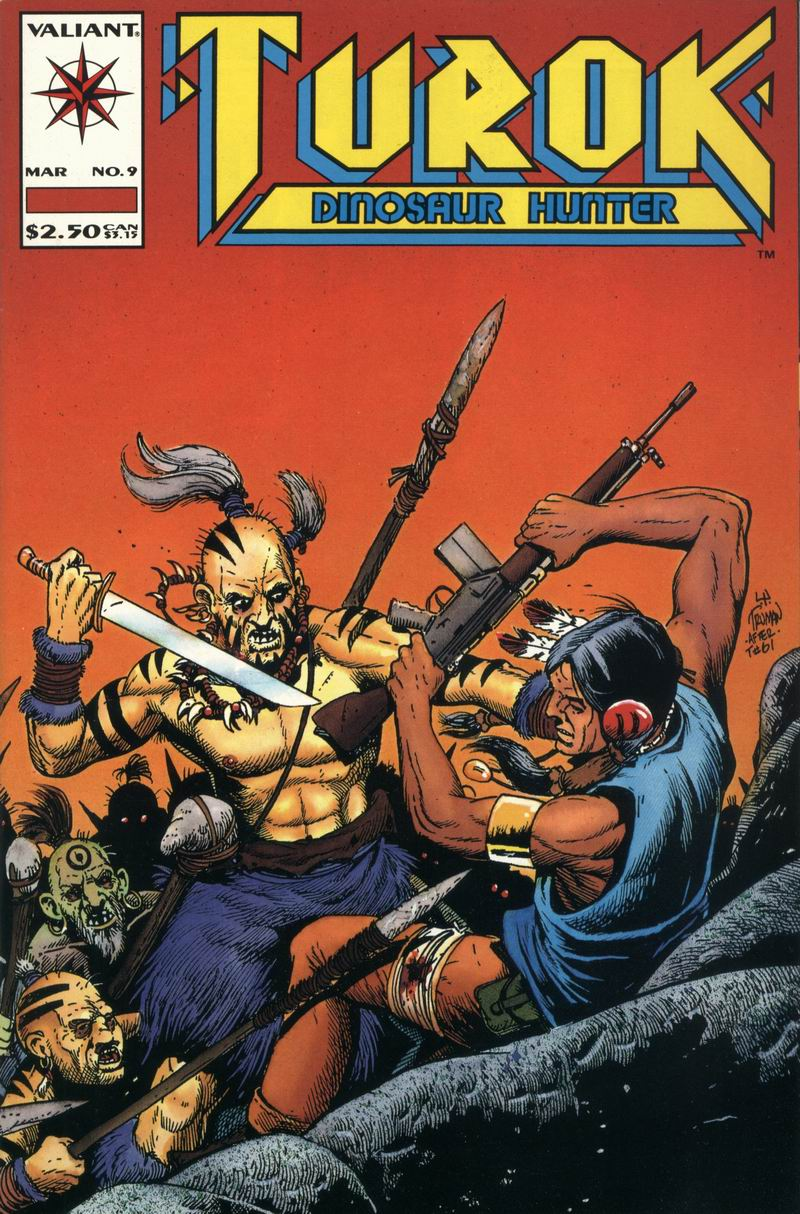 Read online Turok, Dinosaur Hunter (1993) comic -  Issue #9 - 1