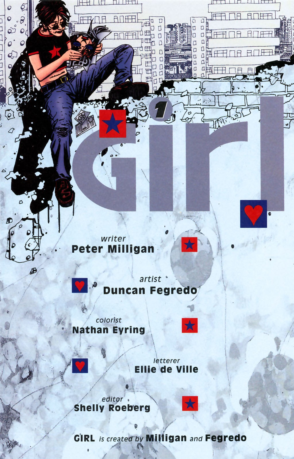 Read online Girl comic -  Issue #1 - 2