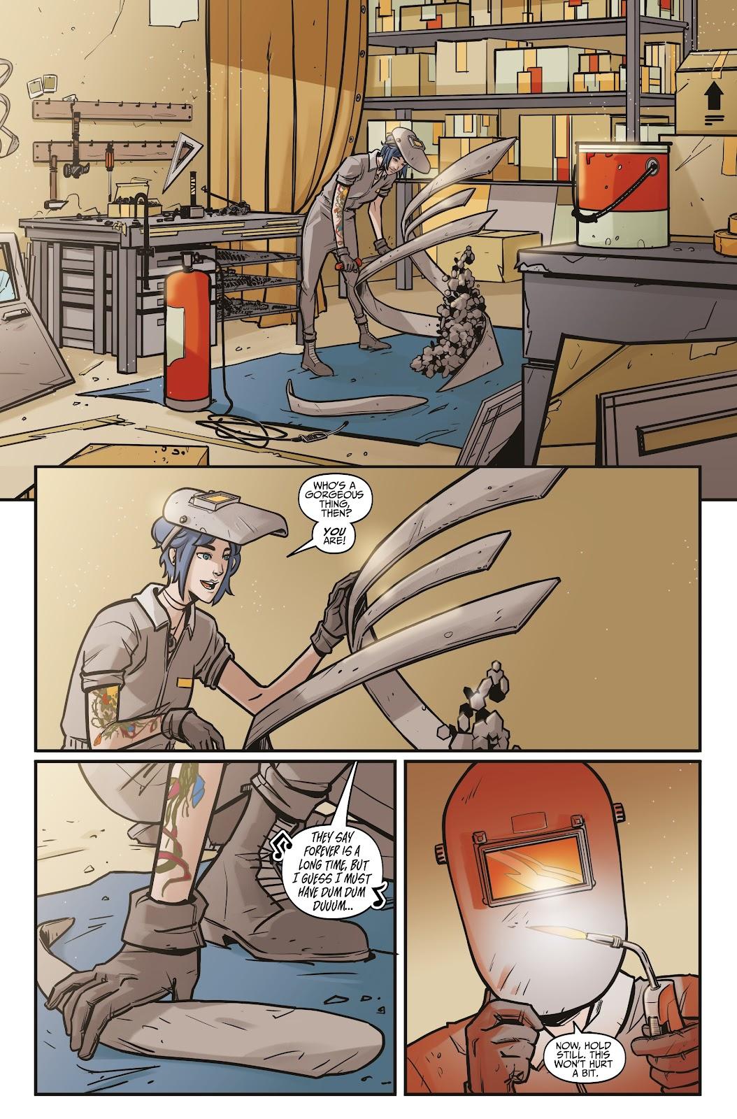 Read online Life is Strange comic -  Issue #6 - 7