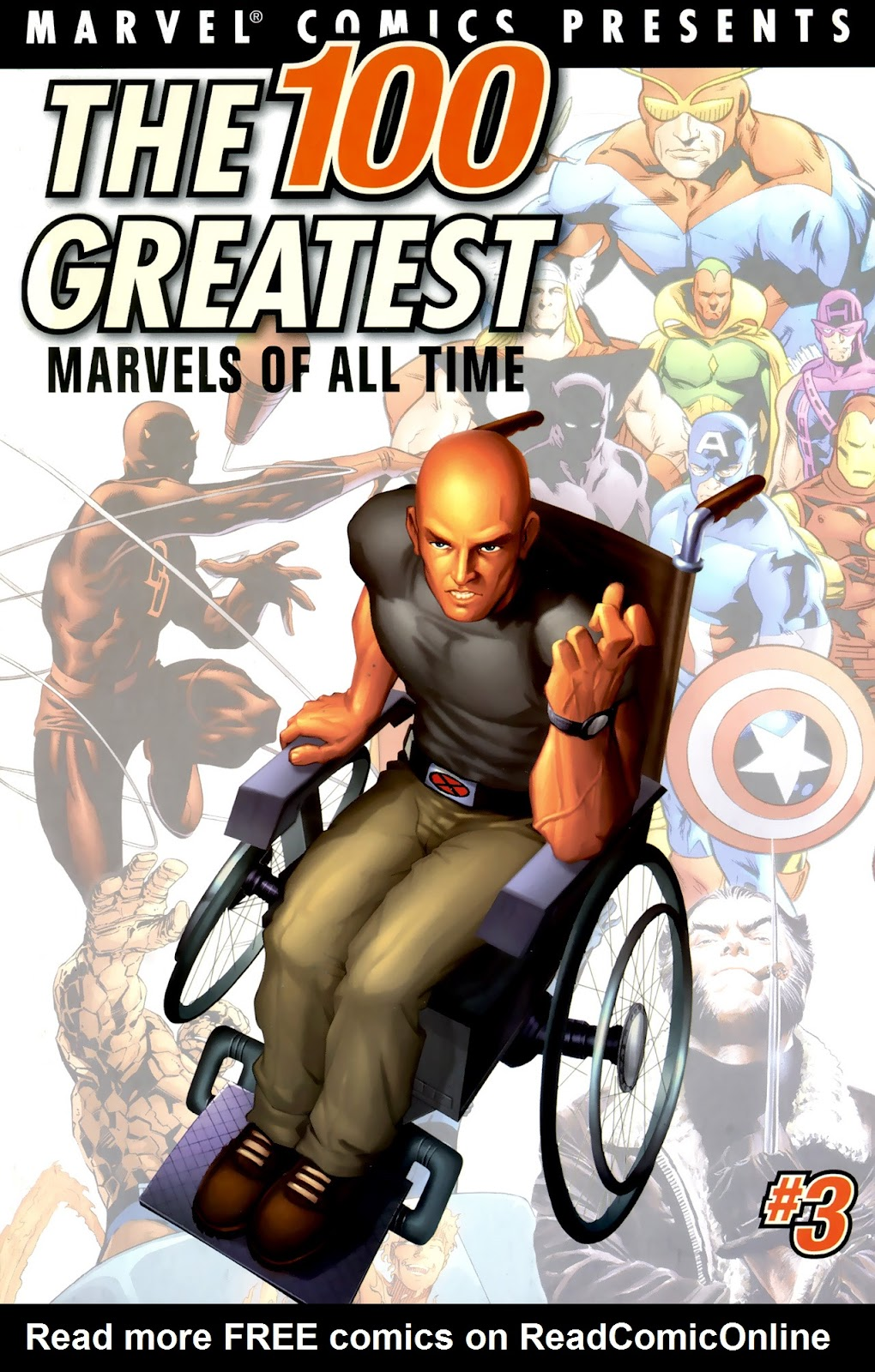 The 100 Greatest Marvels of All Time 8 Page 1