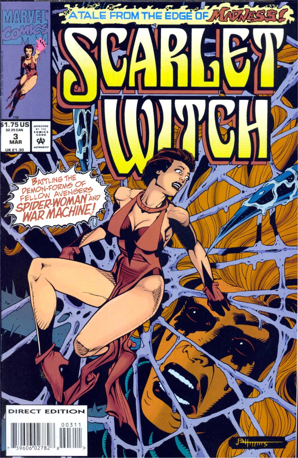 Scarlet Witch (1994) Issue #3 #3 - English 1