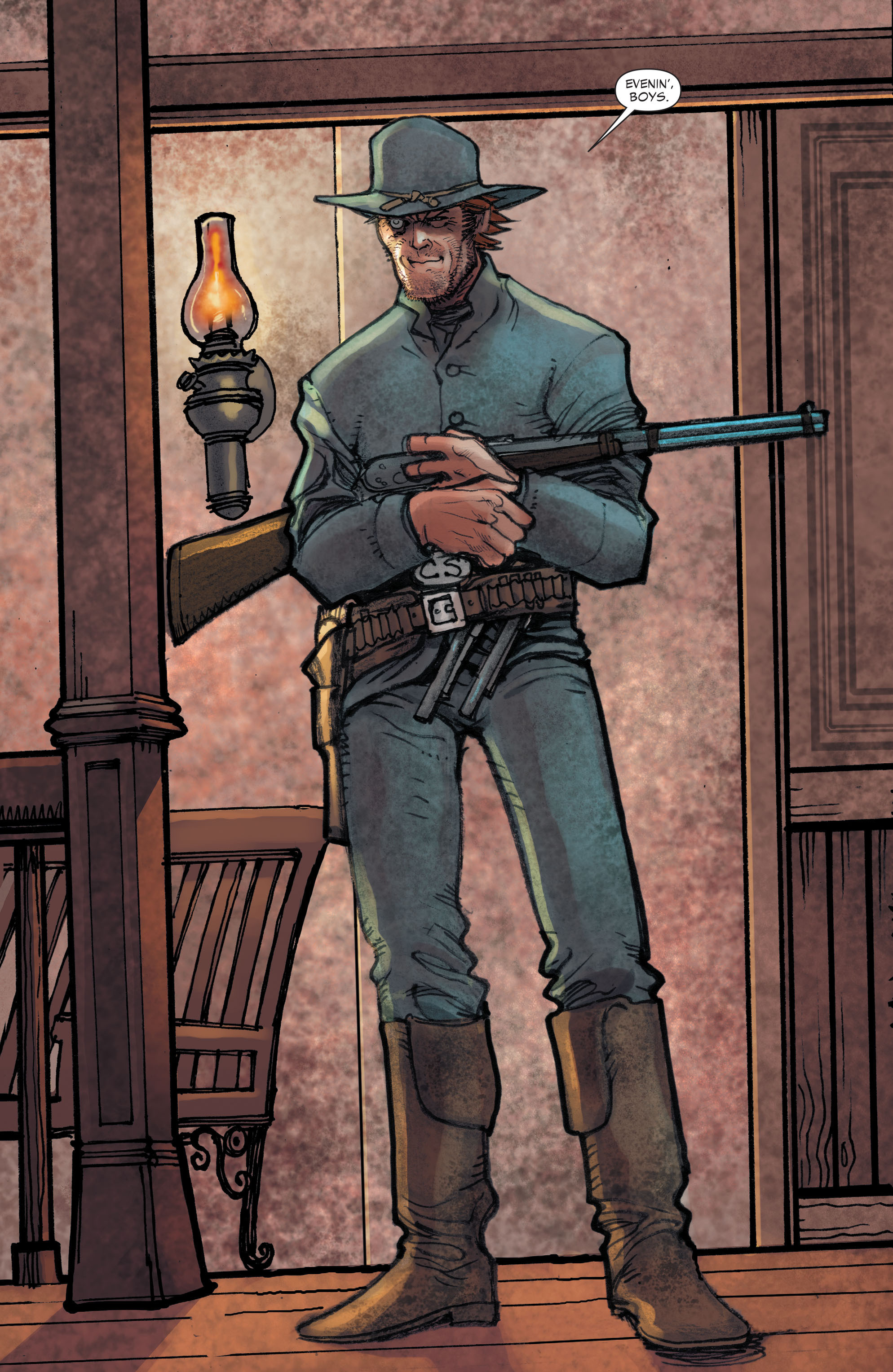 Read online All-Star Western (2011) comic -  Issue #2 - 6