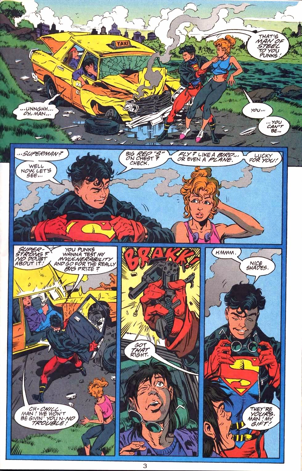 Read online Adventures of Superman (1987) comic -  Issue #501 - 6