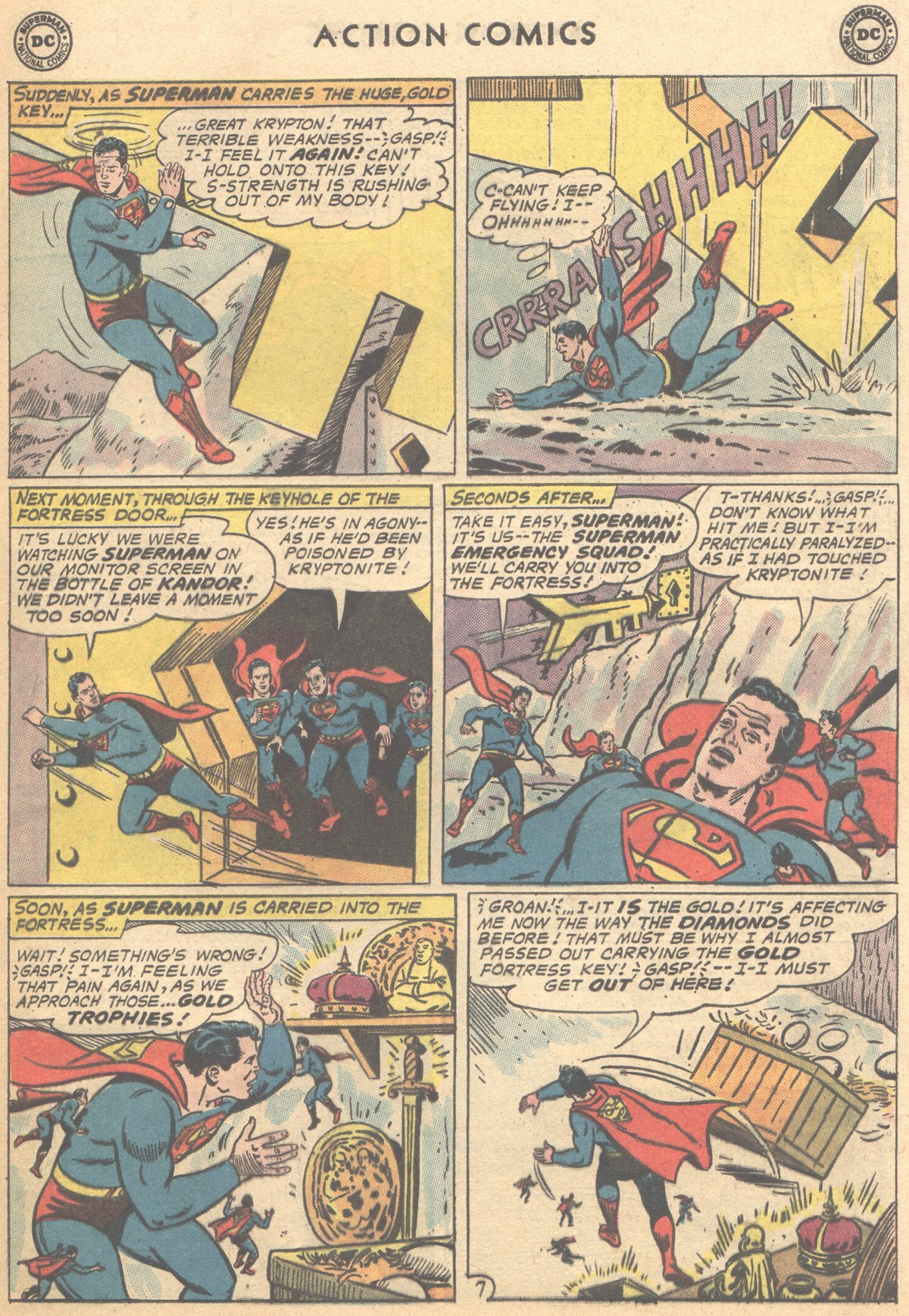 Read online Action Comics (1938) comic -  Issue #291 - 9