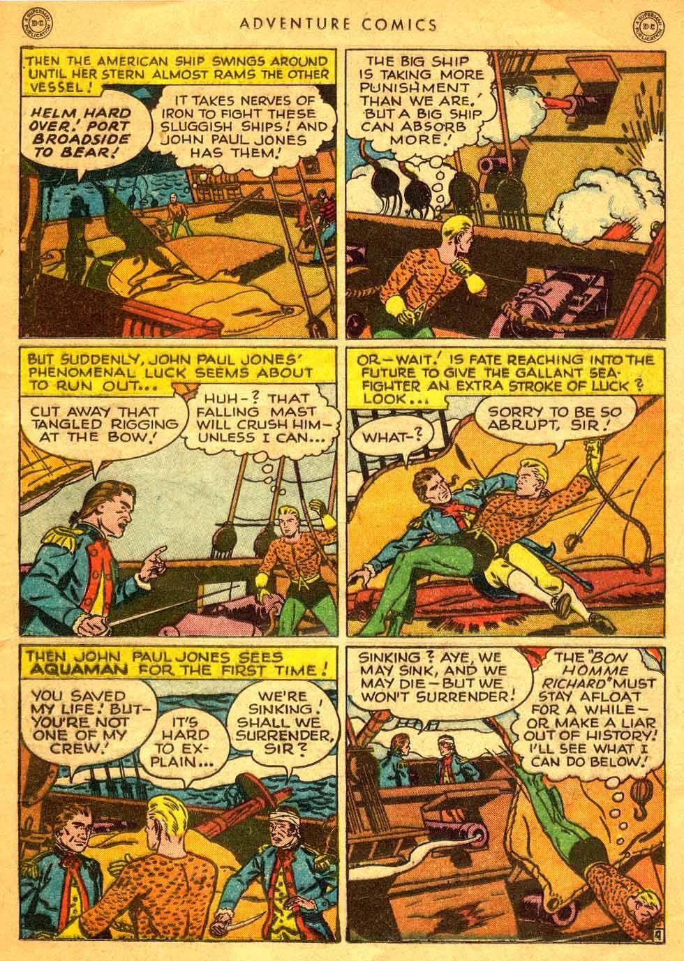 Read online Adventure Comics (1938) comic -  Issue #121 - 16