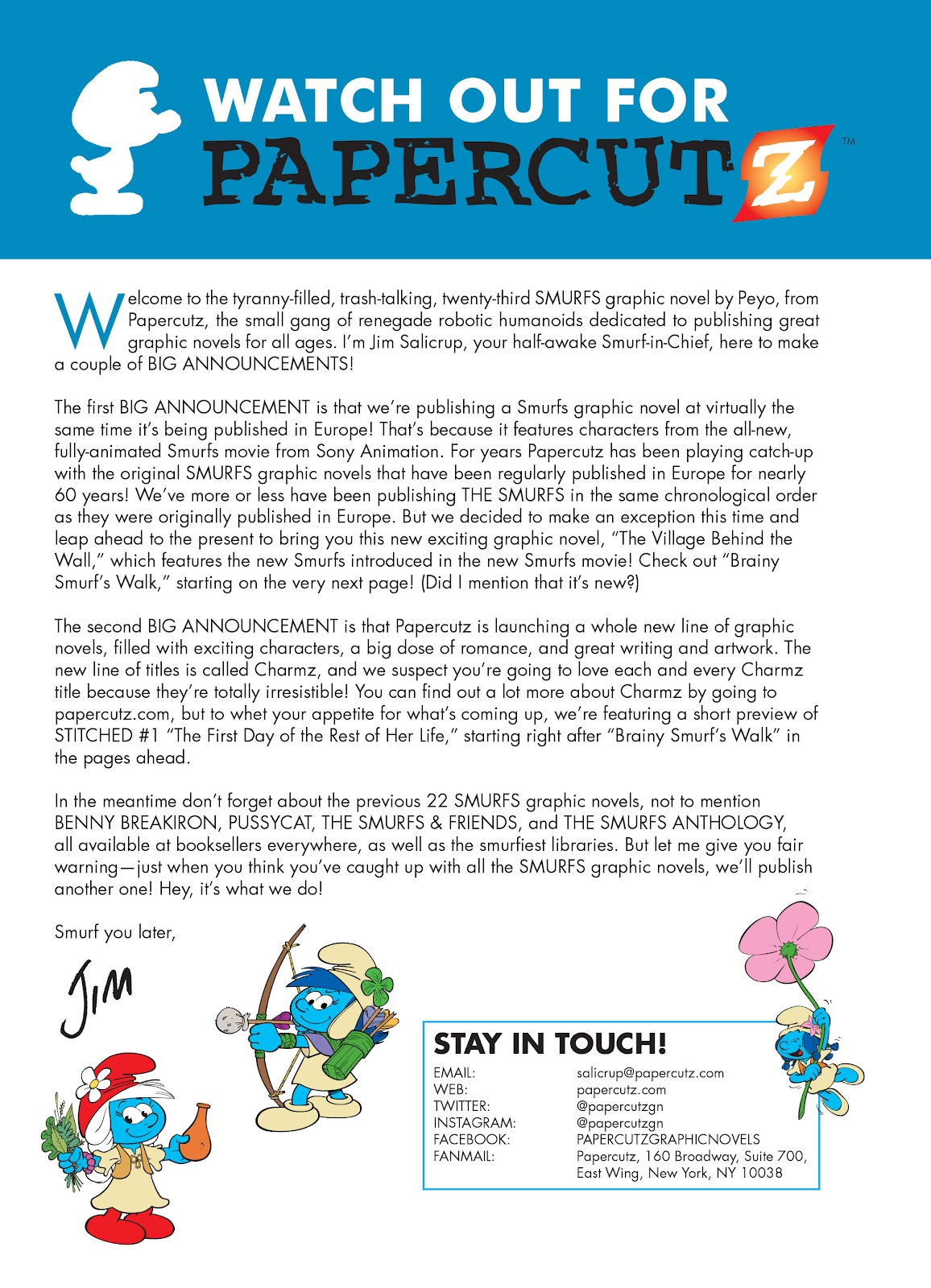 Read online The Smurfs comic -  Issue #23 - 51