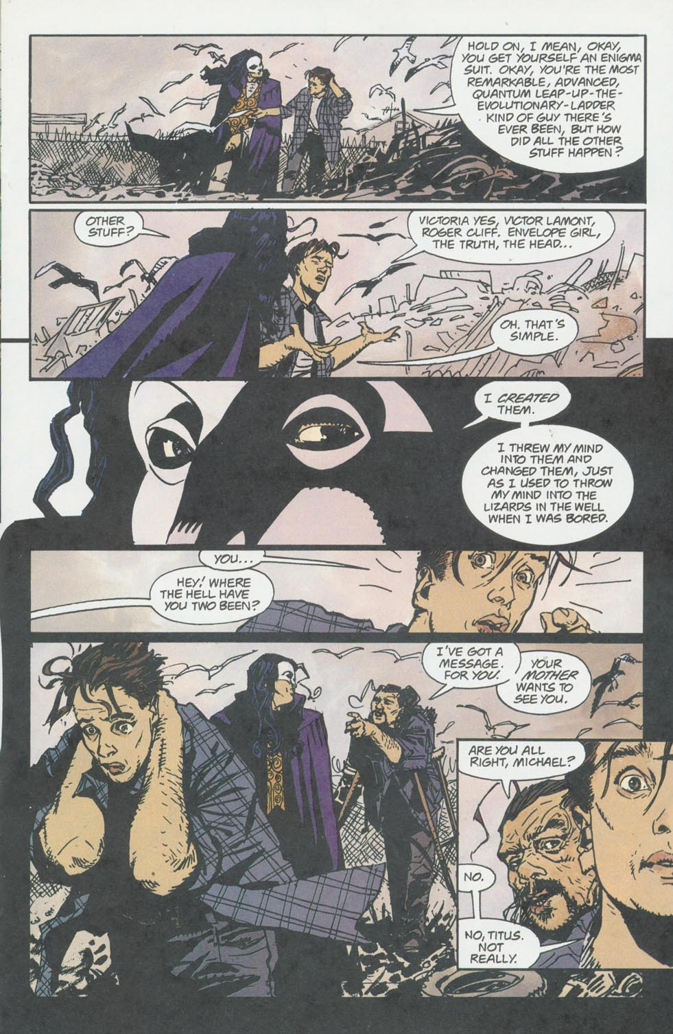 Read online Enigma comic -  Issue #8 - 14