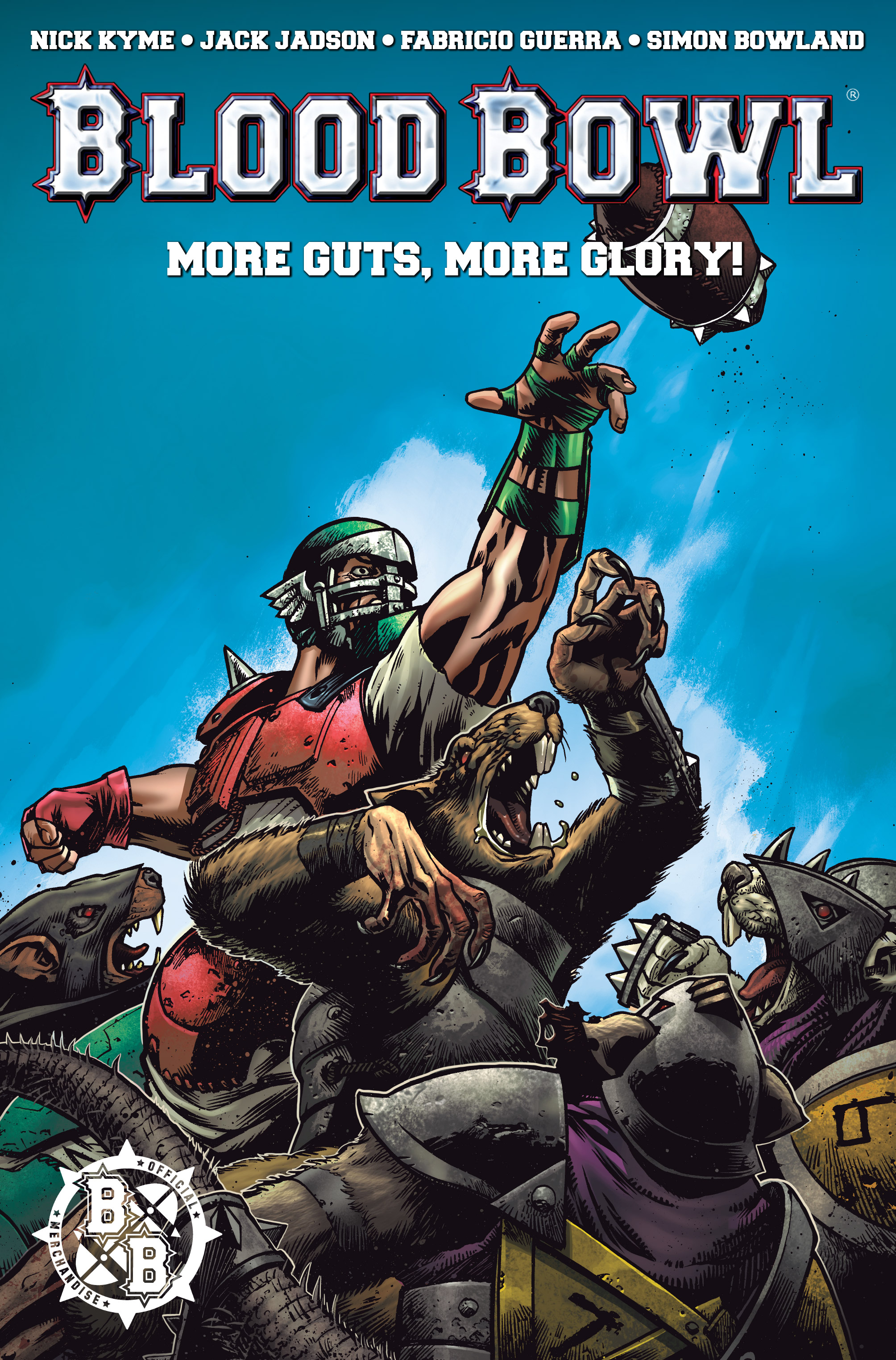 Read online Blood Bowl: More Guts, More Glory! comic -  Issue #1 - 3