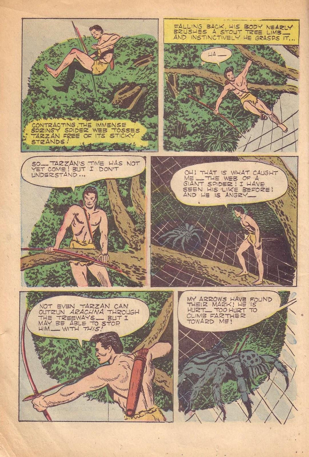 Tarzan (1948) issue 50 - Page 8