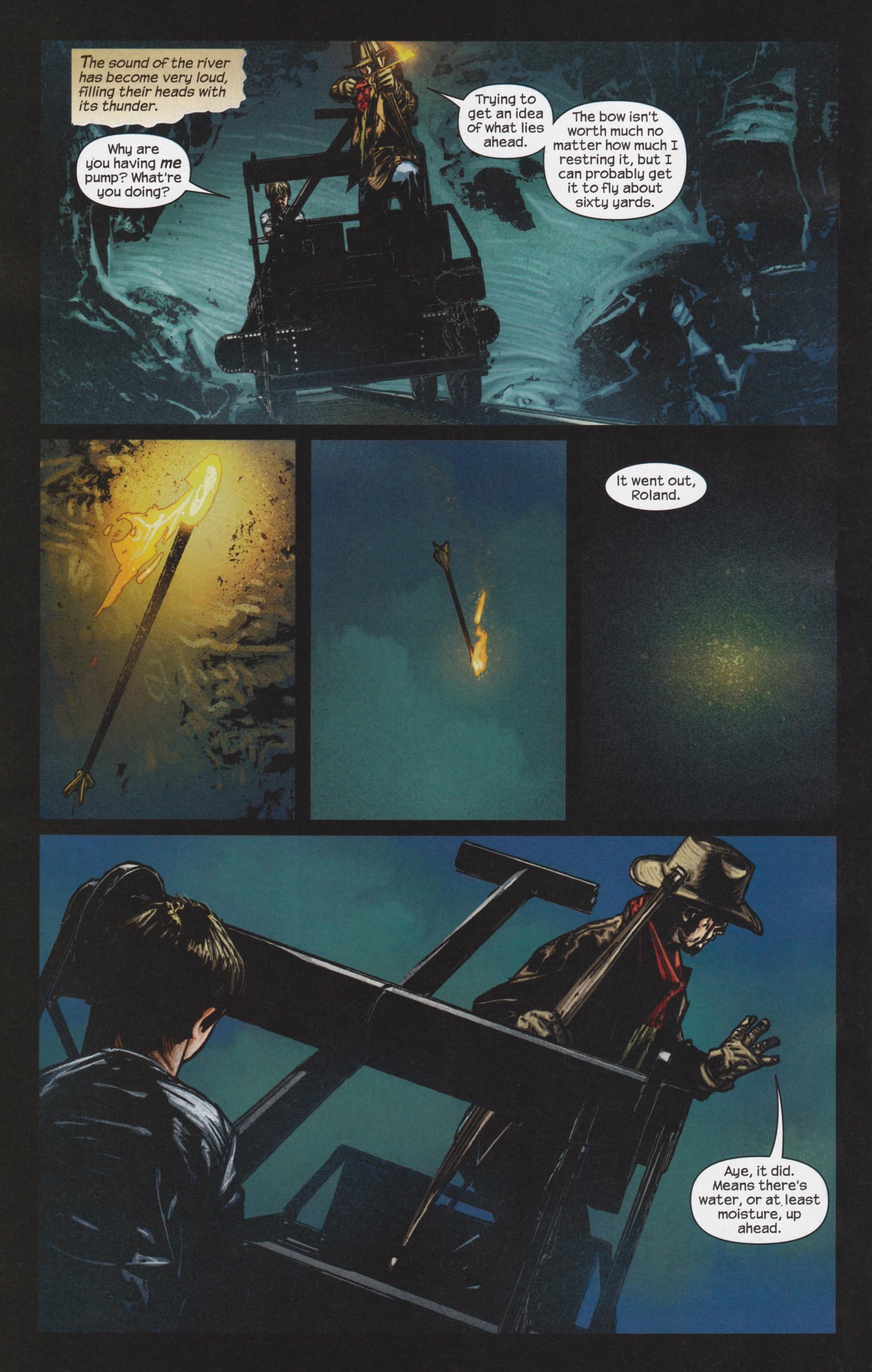 Read online Dark Tower: The Gunslinger - The Man in Black comic -  Issue #4 - 7
